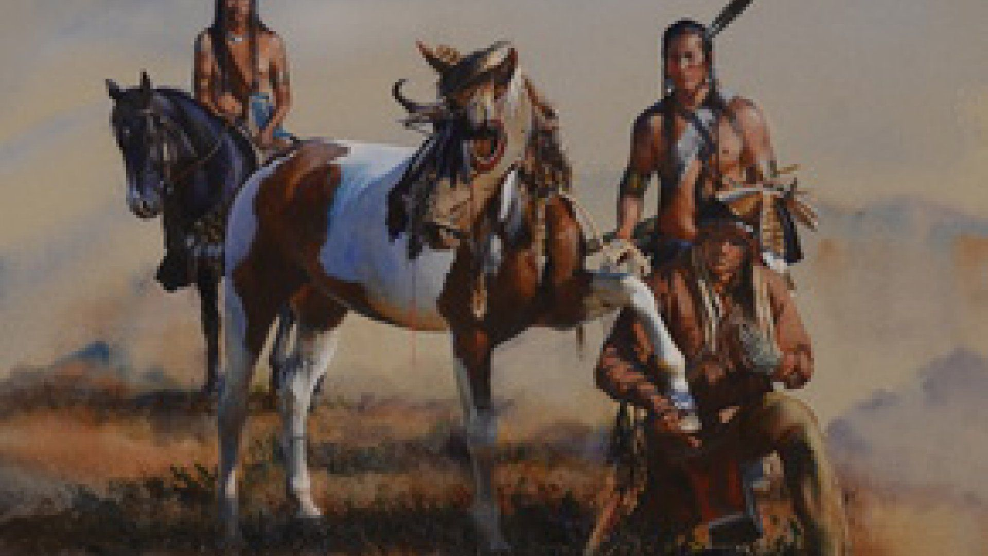 Indians On Horses Pictures