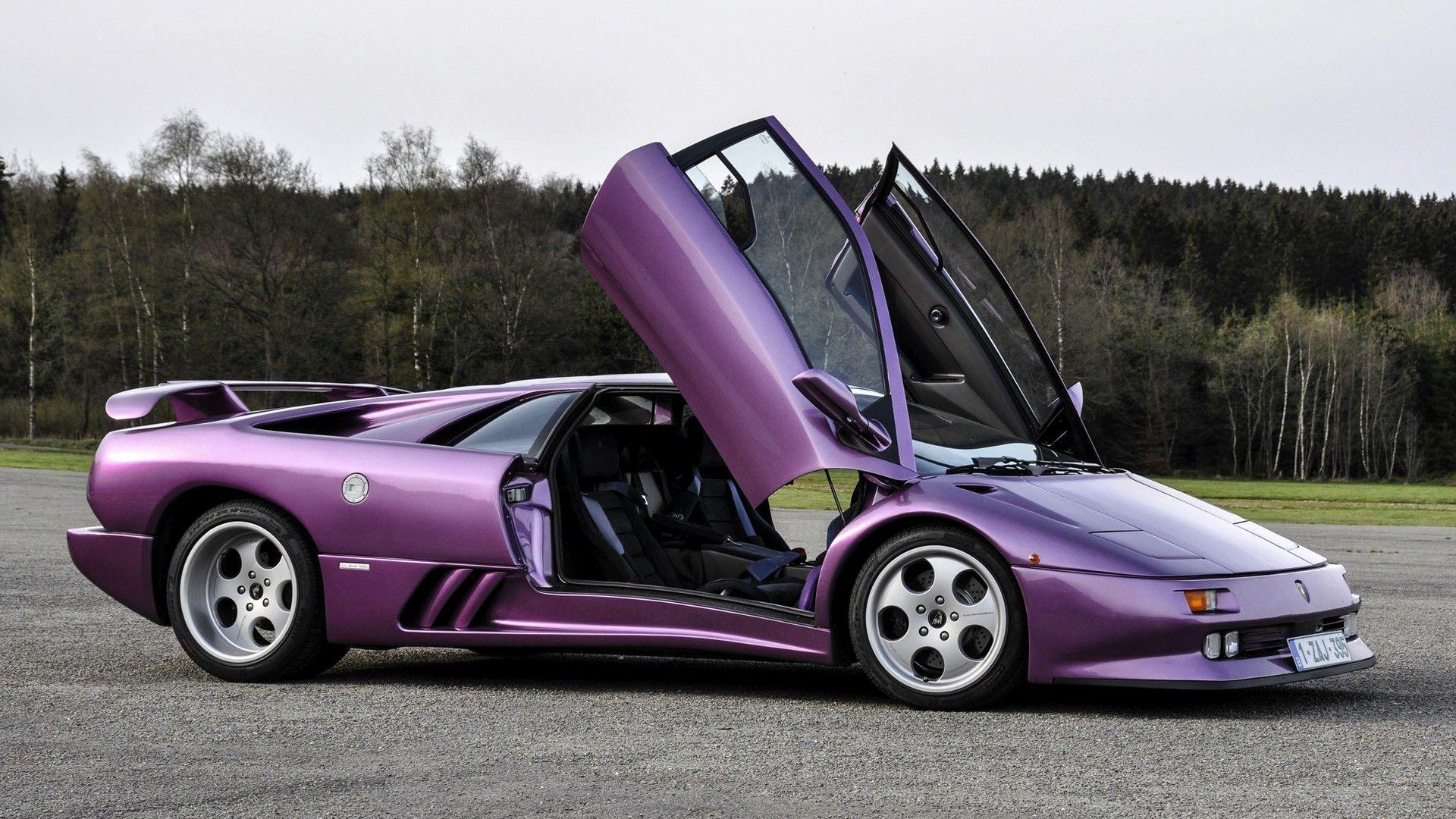 Lamborghini Diablo Purple