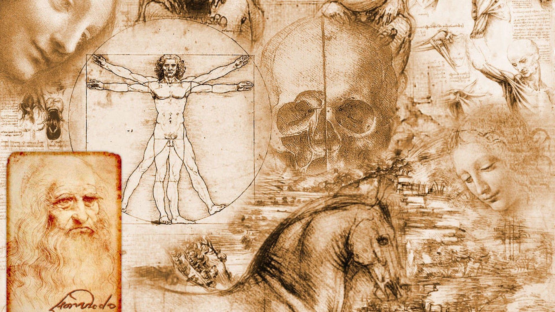 Leonardo Da Vinci Paintings Drawings