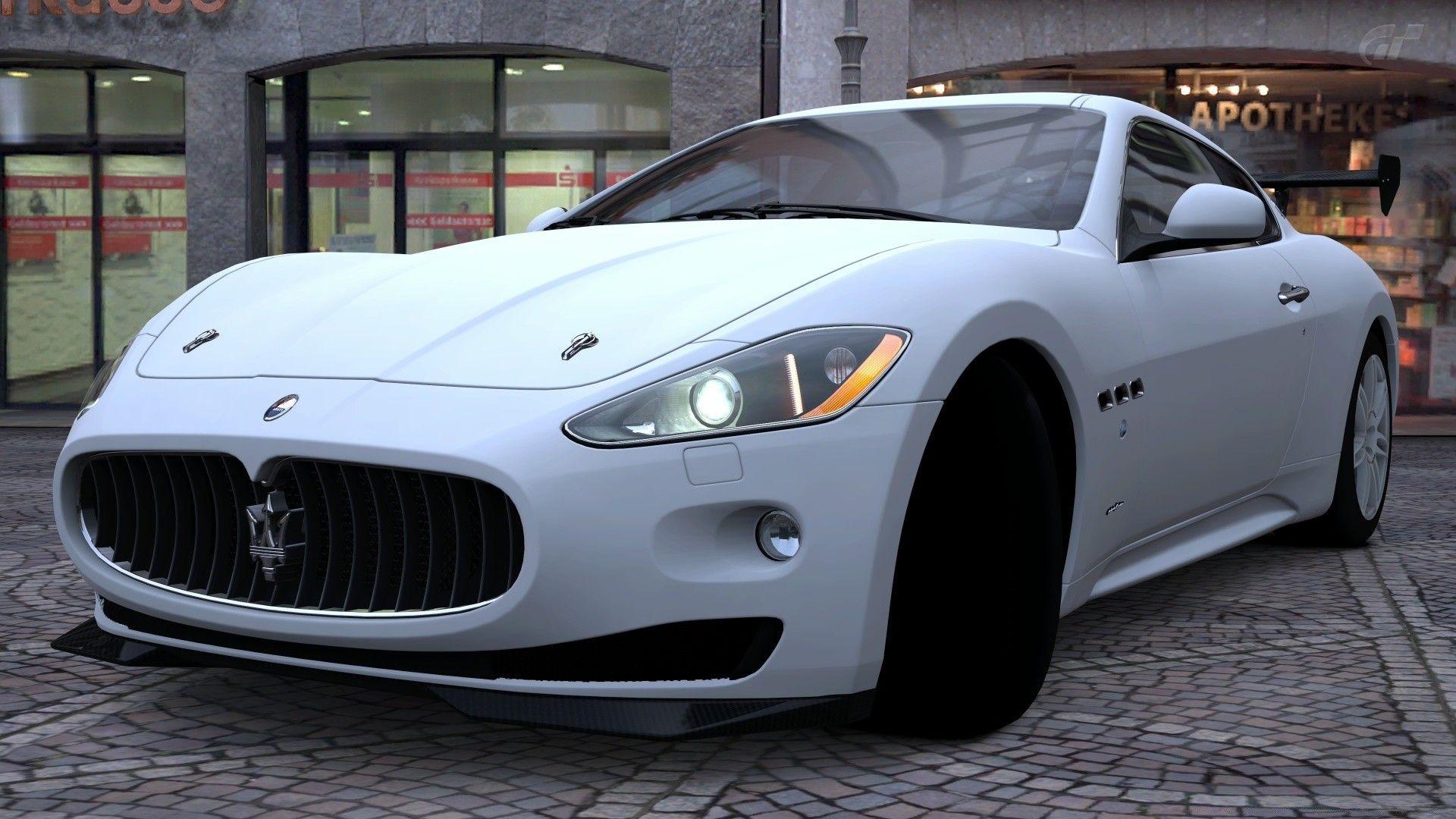 Maserati Granturismo On Rabstol