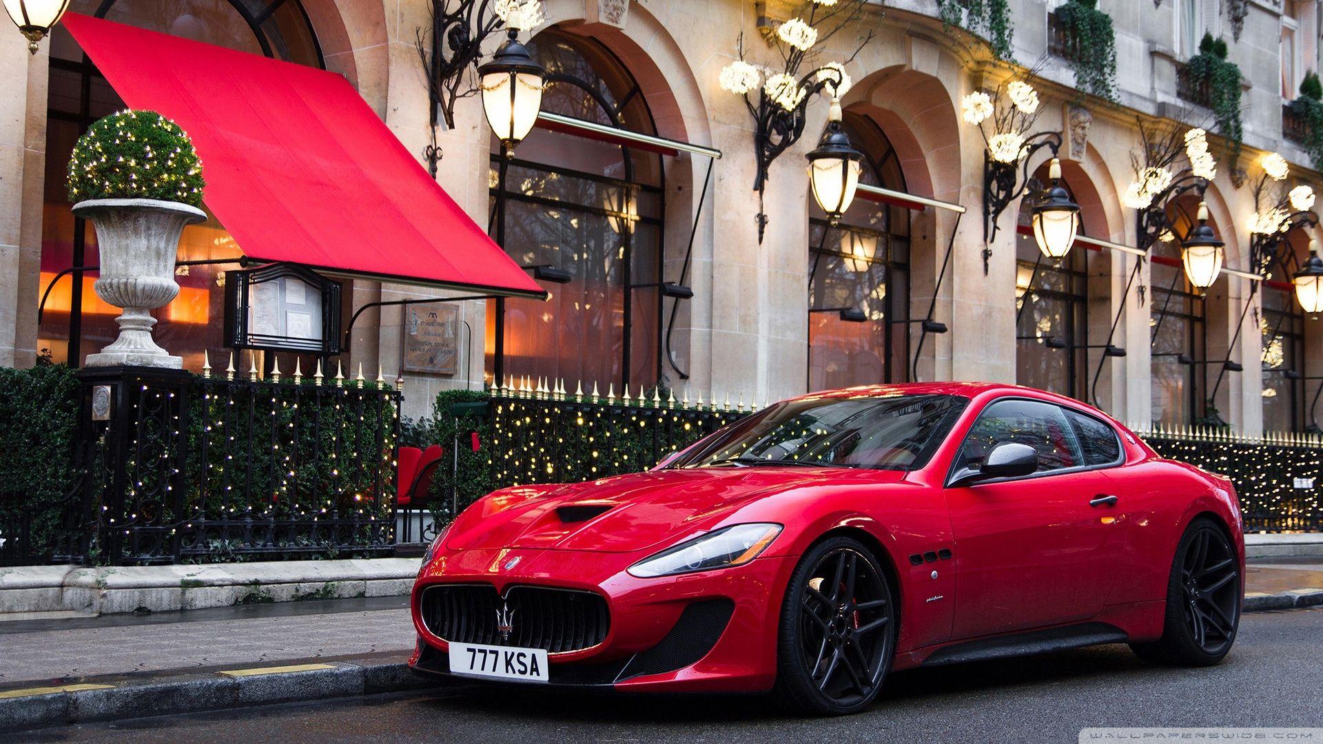 Maserati Red