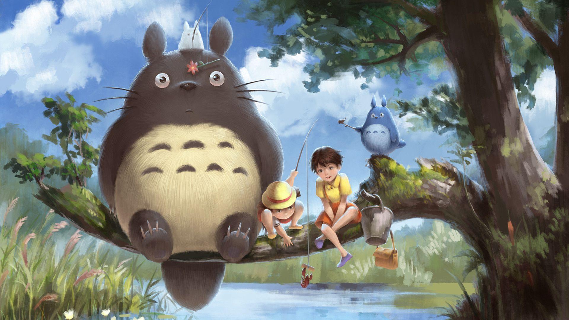 21 My Neighbor Totoro Wallpapers Wallpaperboat