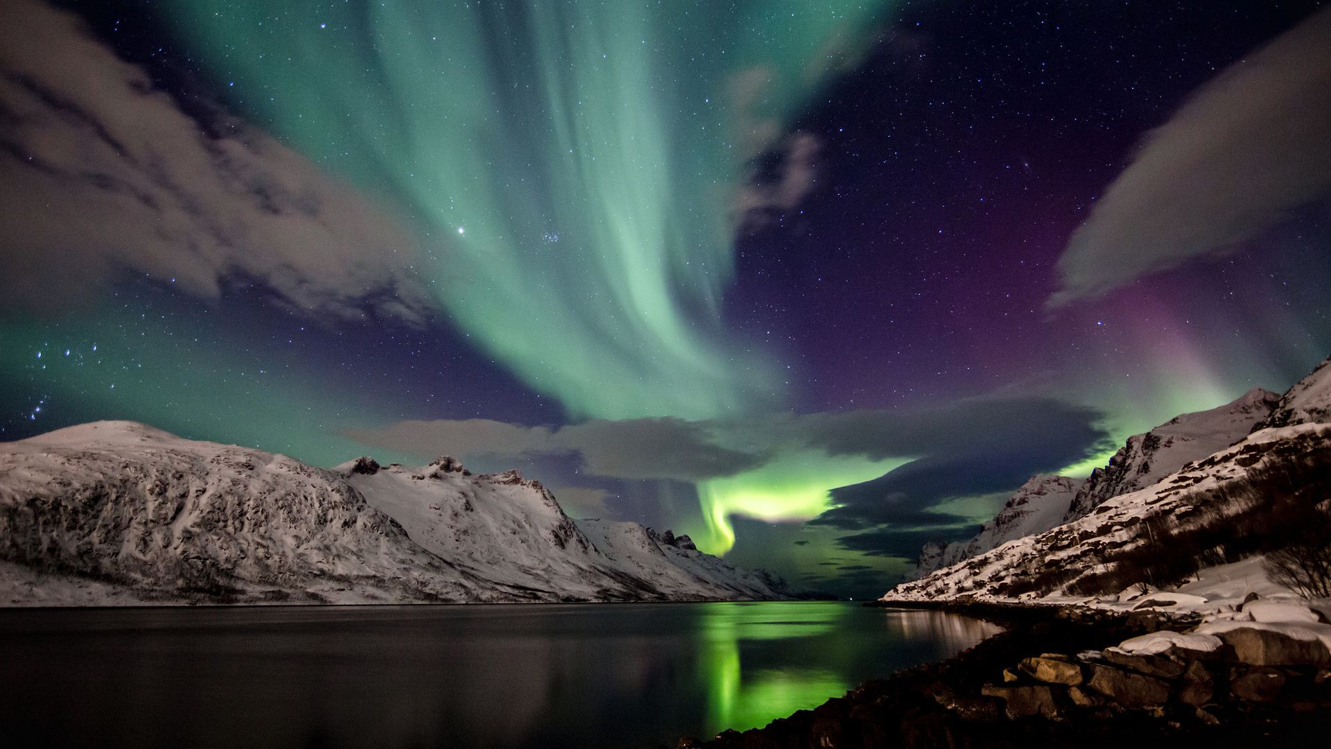 Northern Lights Iceland Wallpaper