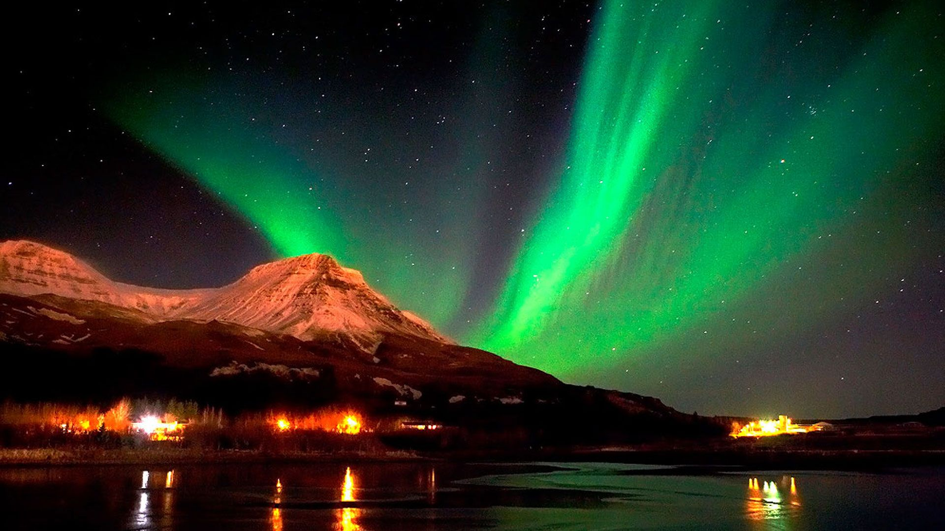 Northern Lights In Iceland Photo
