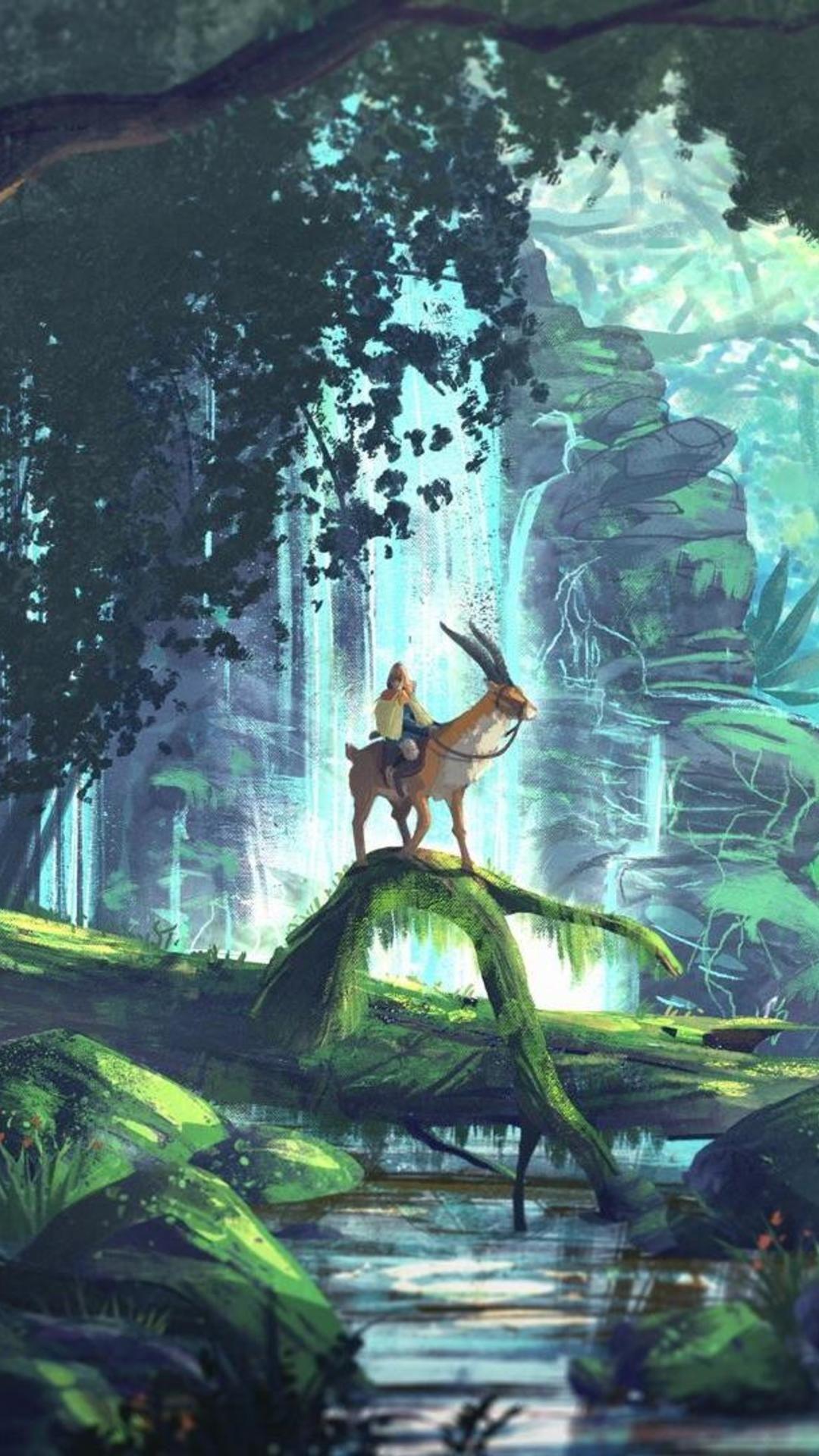 Princess Mononoke Art Forest