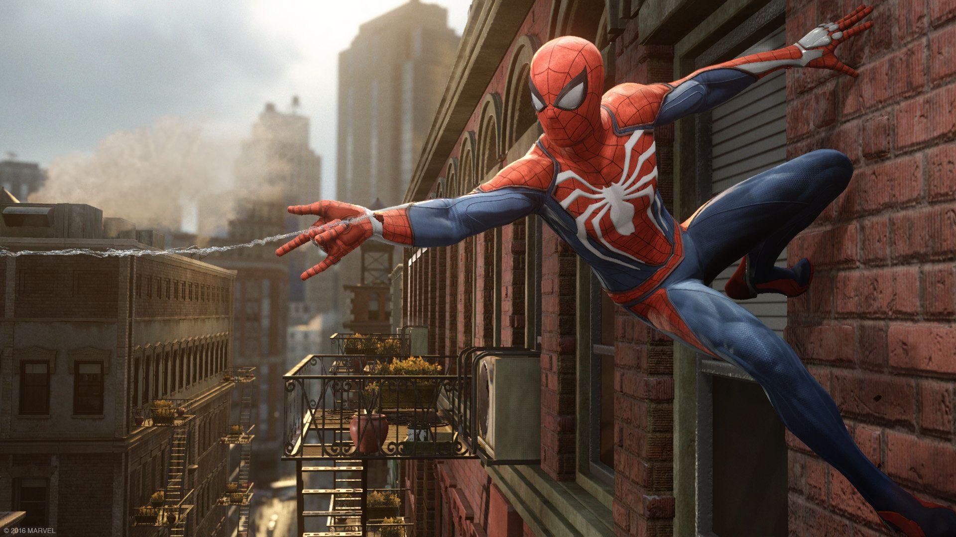 Spiderman Ps4