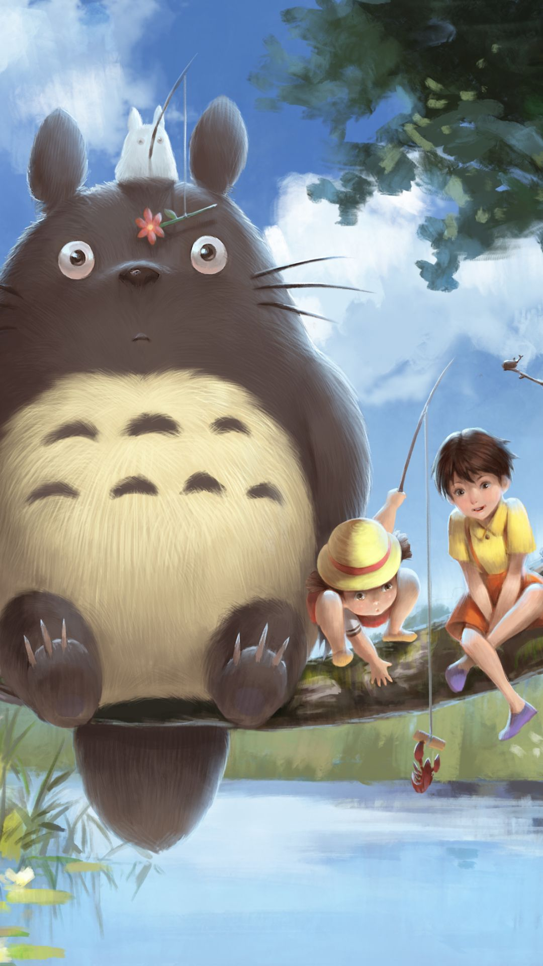 Totoro Pictures From The Movie