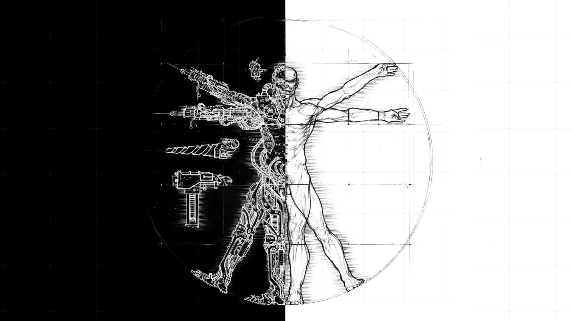 Vitruvian Man Wallpaper
