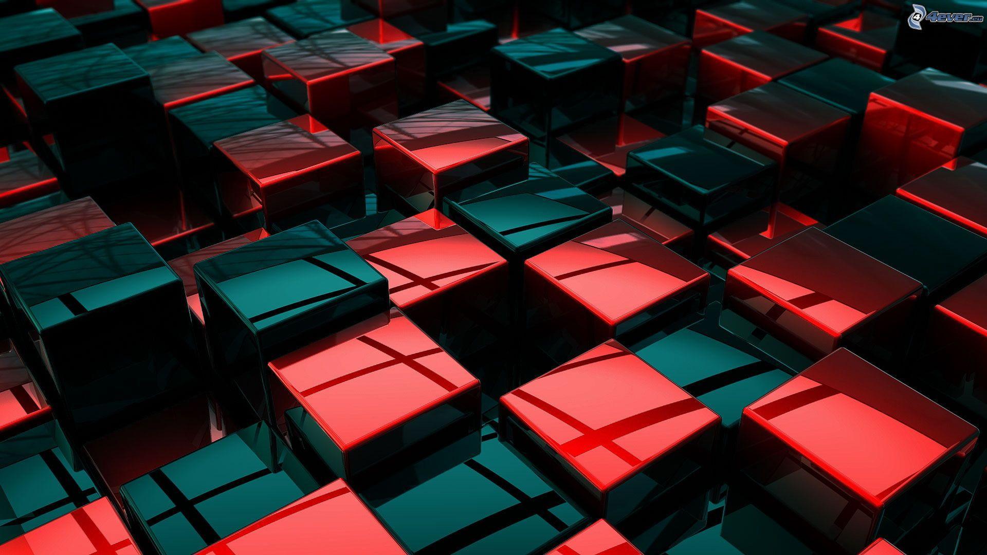 Wallpaper 3d Cubes