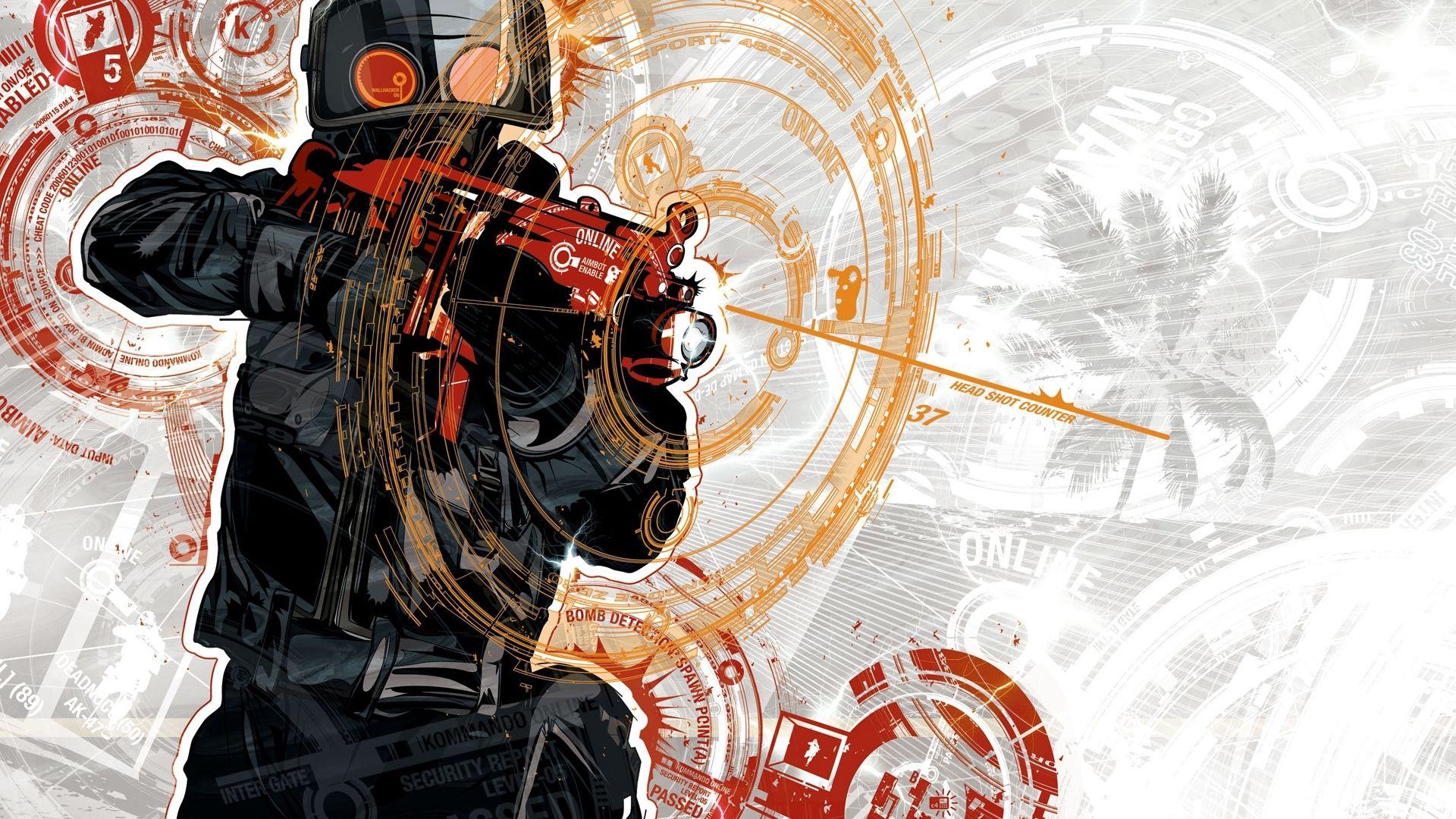 Wallpaper Cop 16 On The Desktop