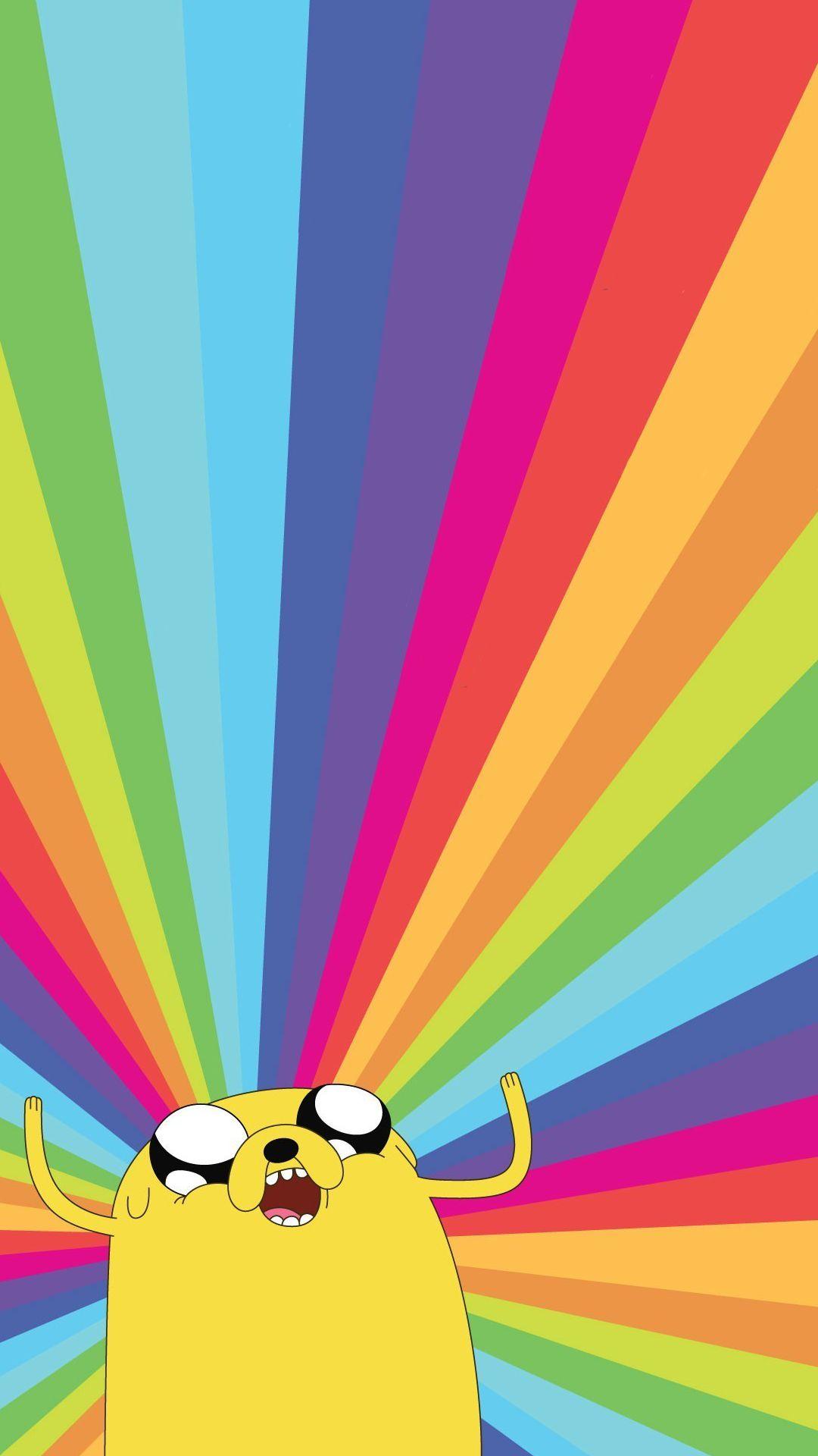 Wallpaper Jake Rainbow