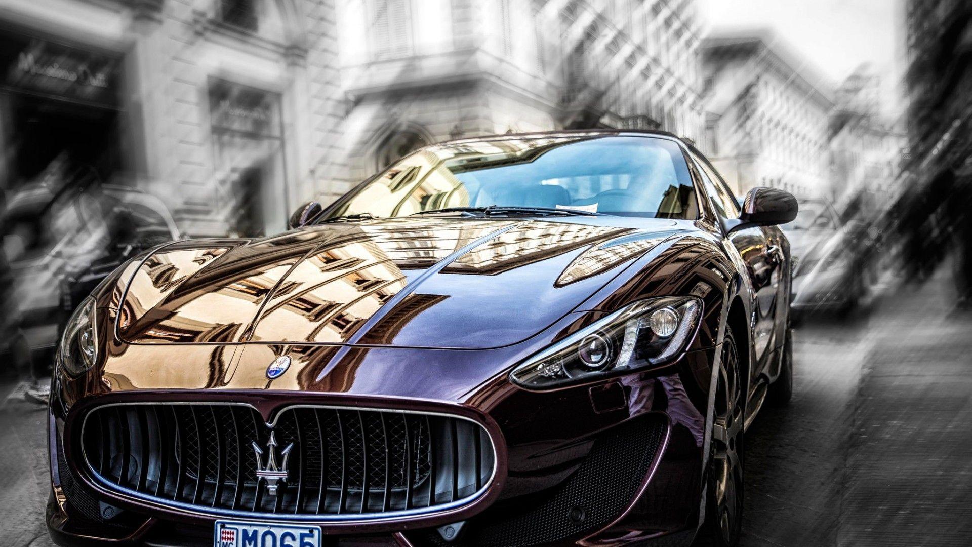 Wallpaper Maserati