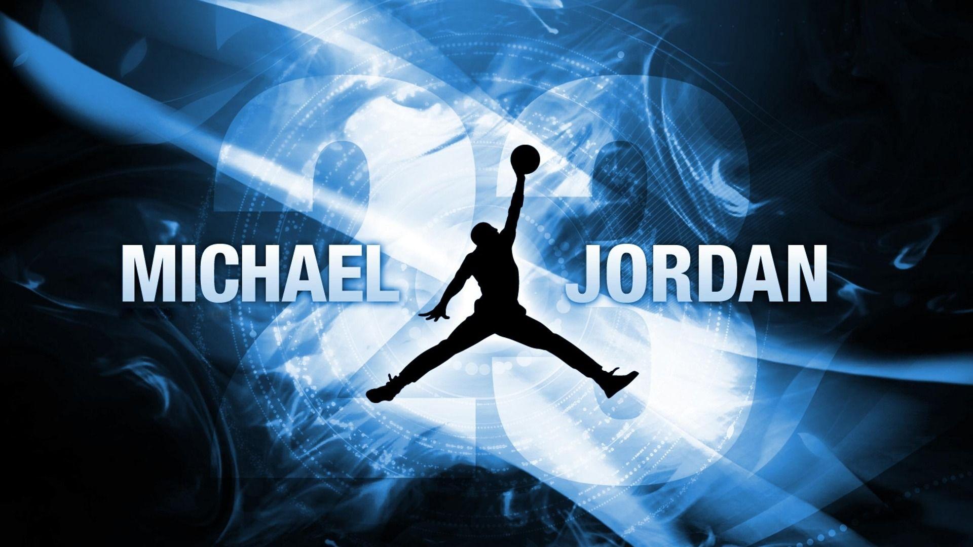 Wallpaper Michael Jordan Logo