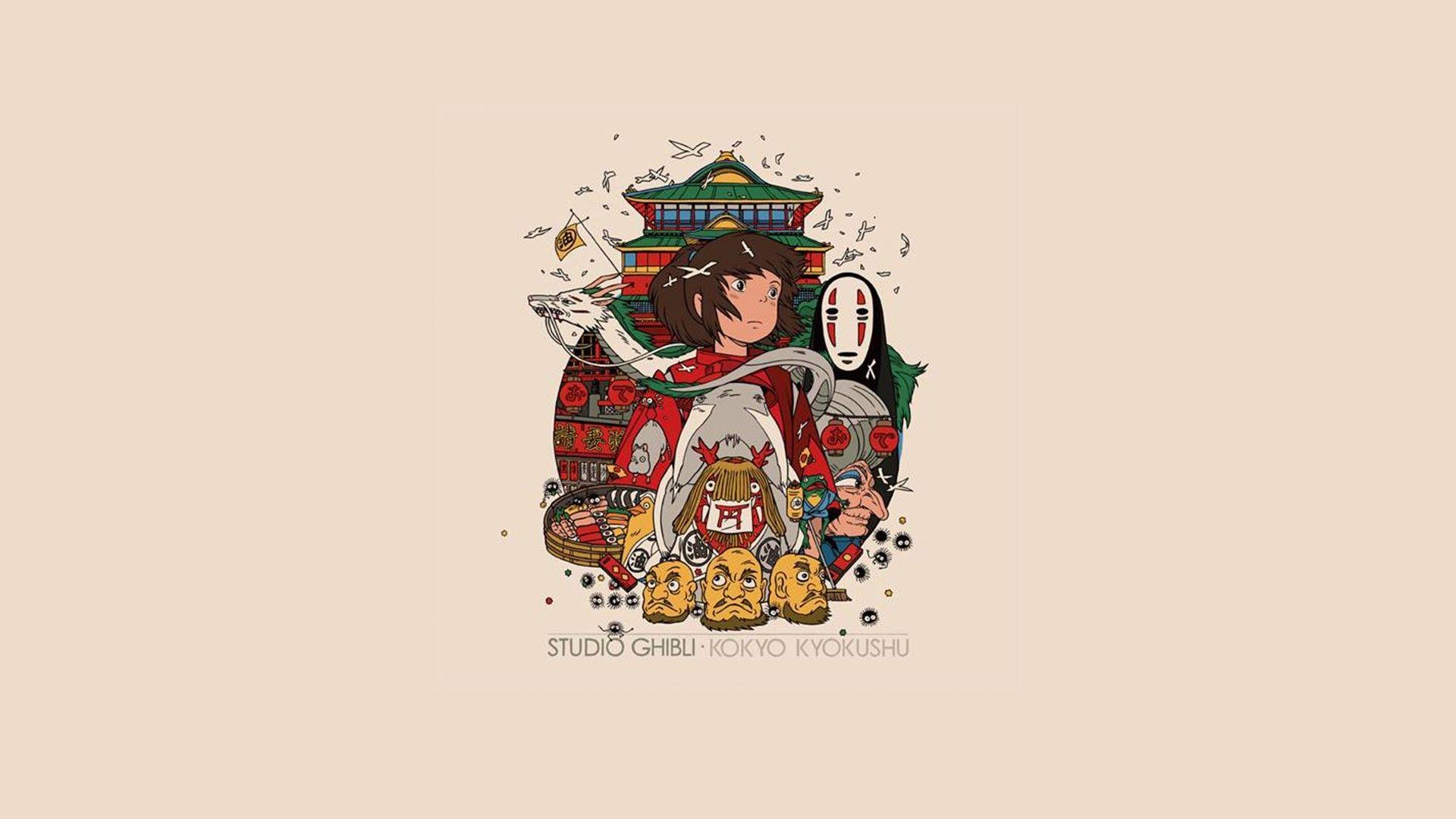 Wallpaper Miyazakis Spirited Away