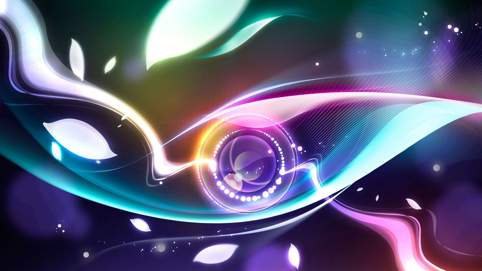 Wallpaper Pc Abstract Eyes