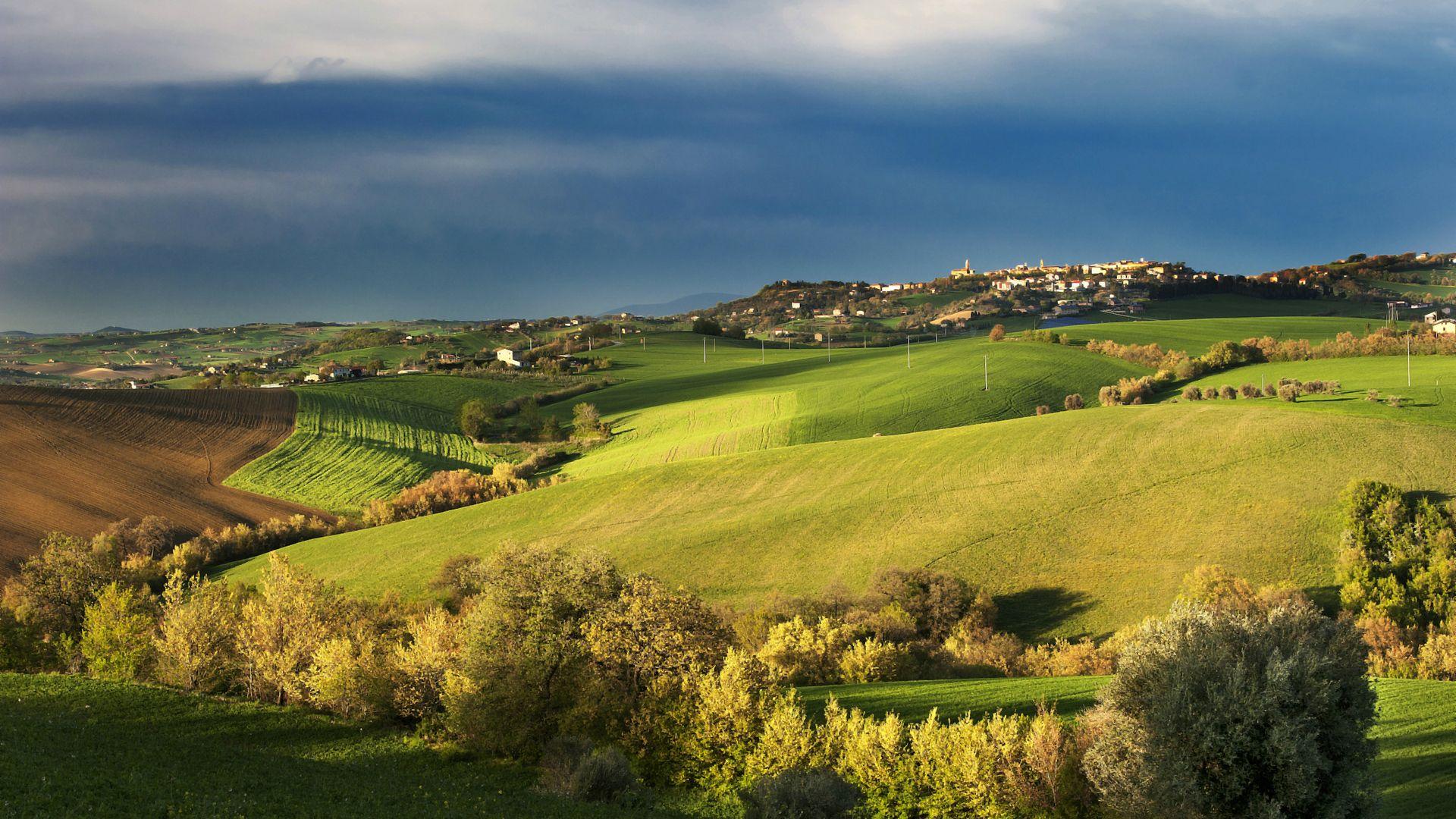 Wallpaper Tuscany Italy