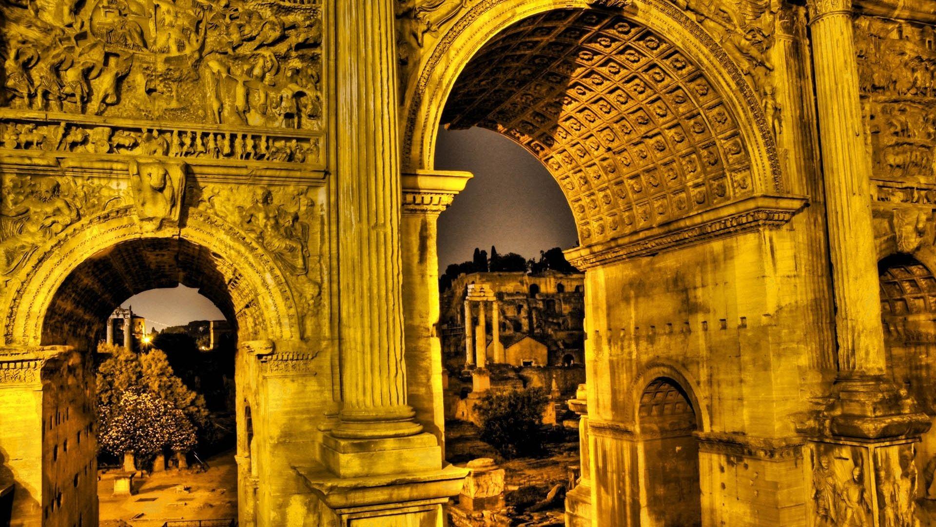 Wallpaper Ancient Architecture