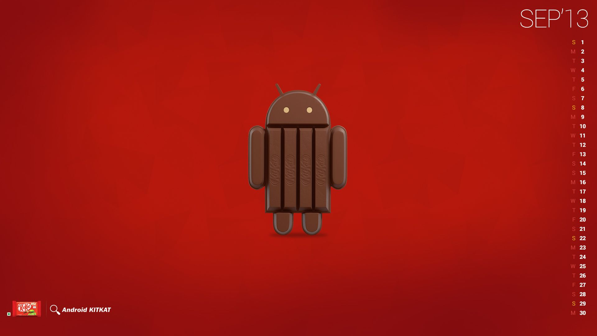 Wallpaper Android 44 Kitkat
