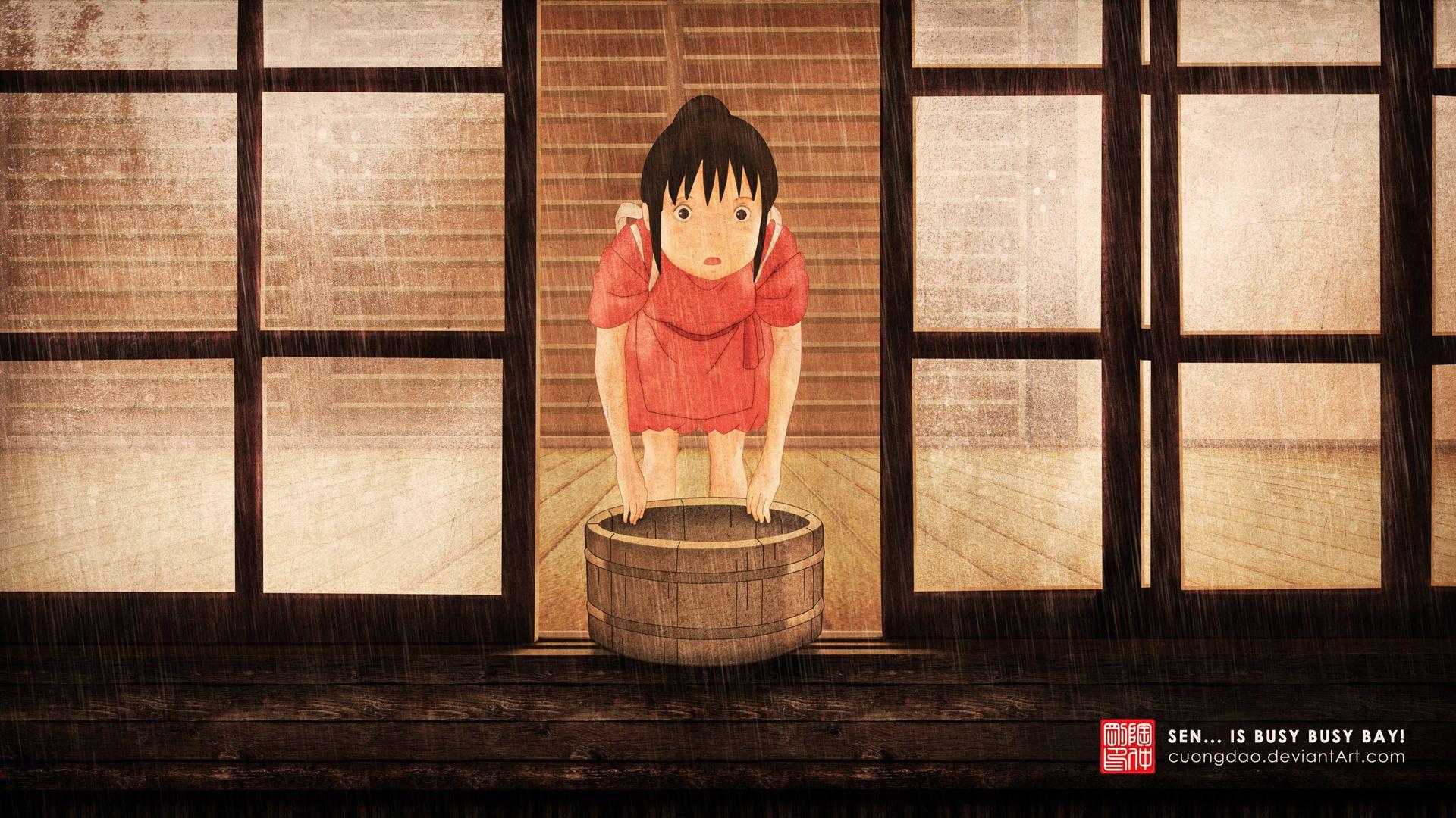 Wallpaper Anime Spirited Away