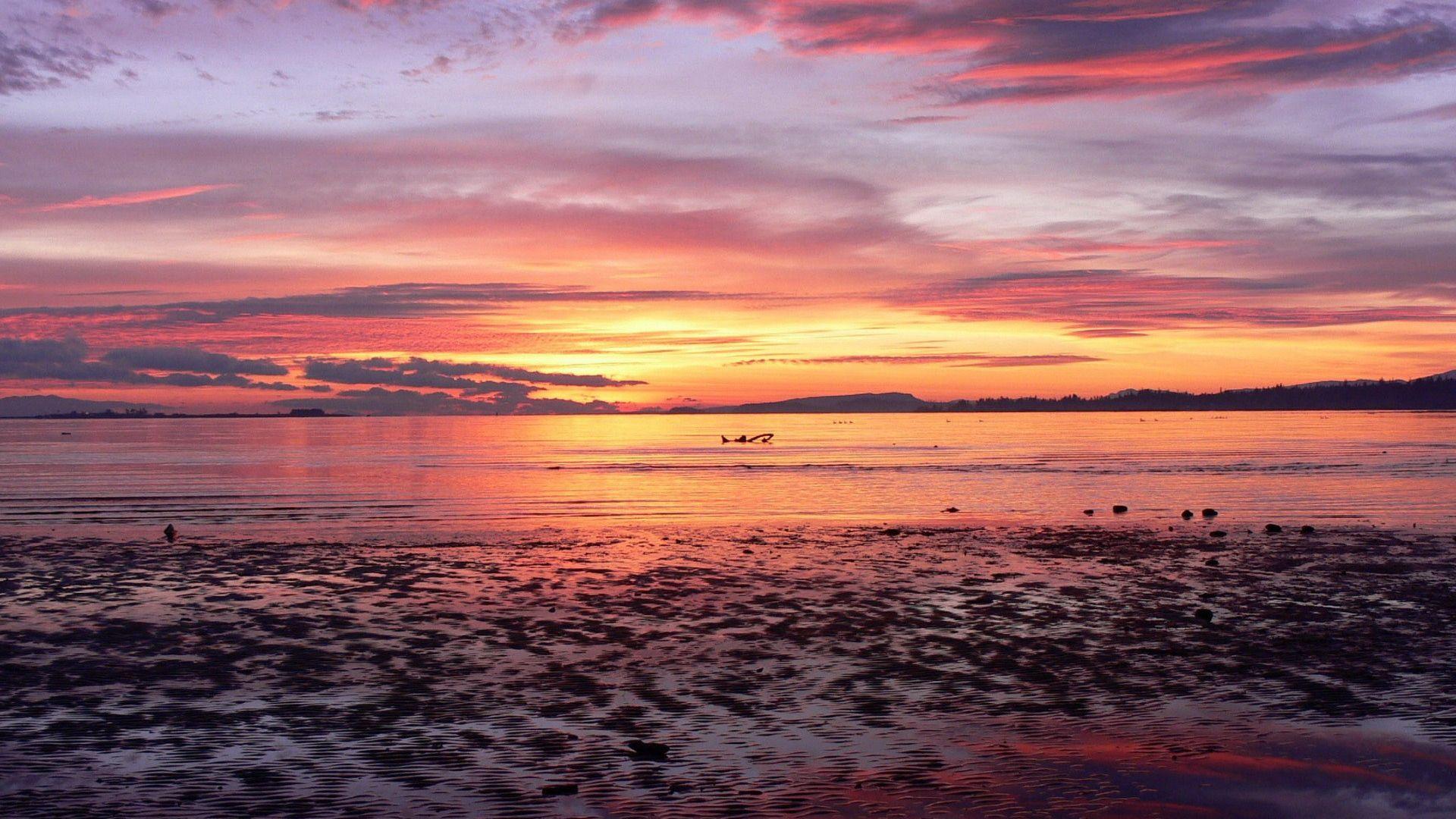 Wallpaper Desktop Sunset