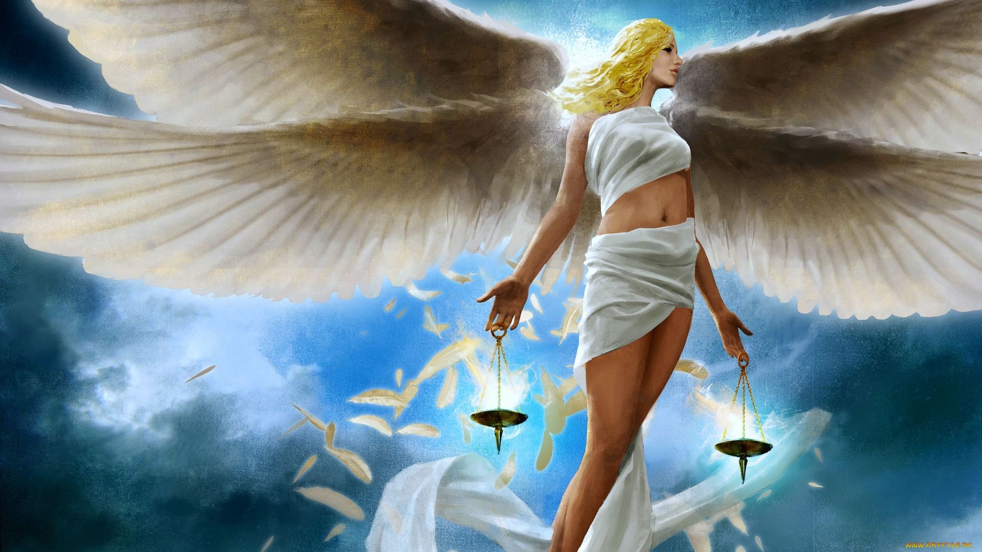 Wallpaper For Desktop Of Angels