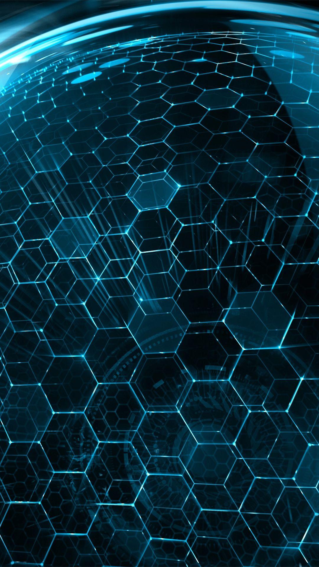 Wallpaper Honeycomb
