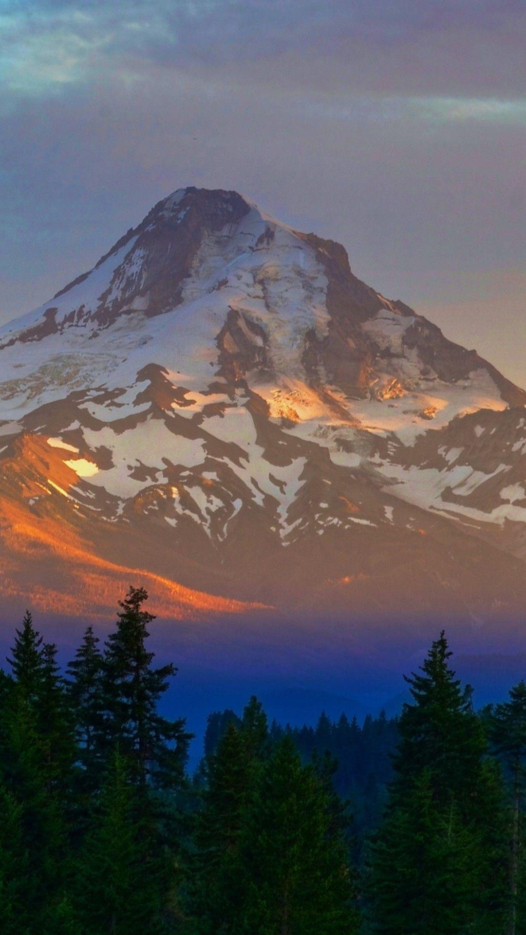 Wallpaper Iphone Sunset Mountains