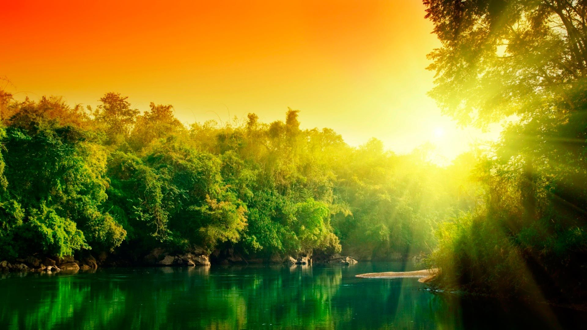 Wallpaper Nature Dawn