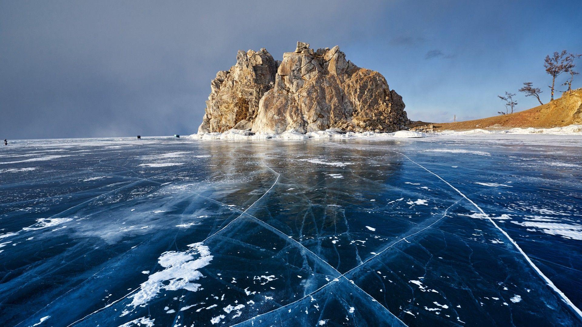 Wallpaper Winter Baikal