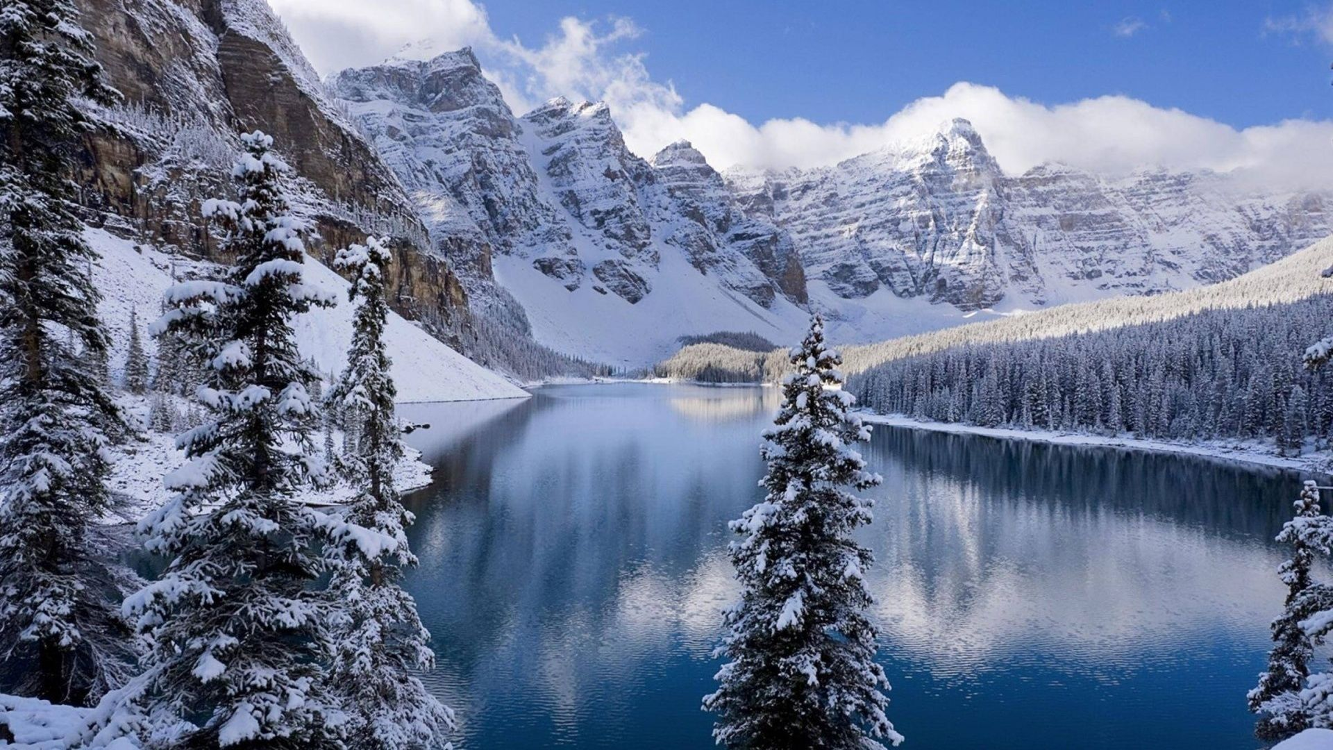 Wallpaper Winter Canada
