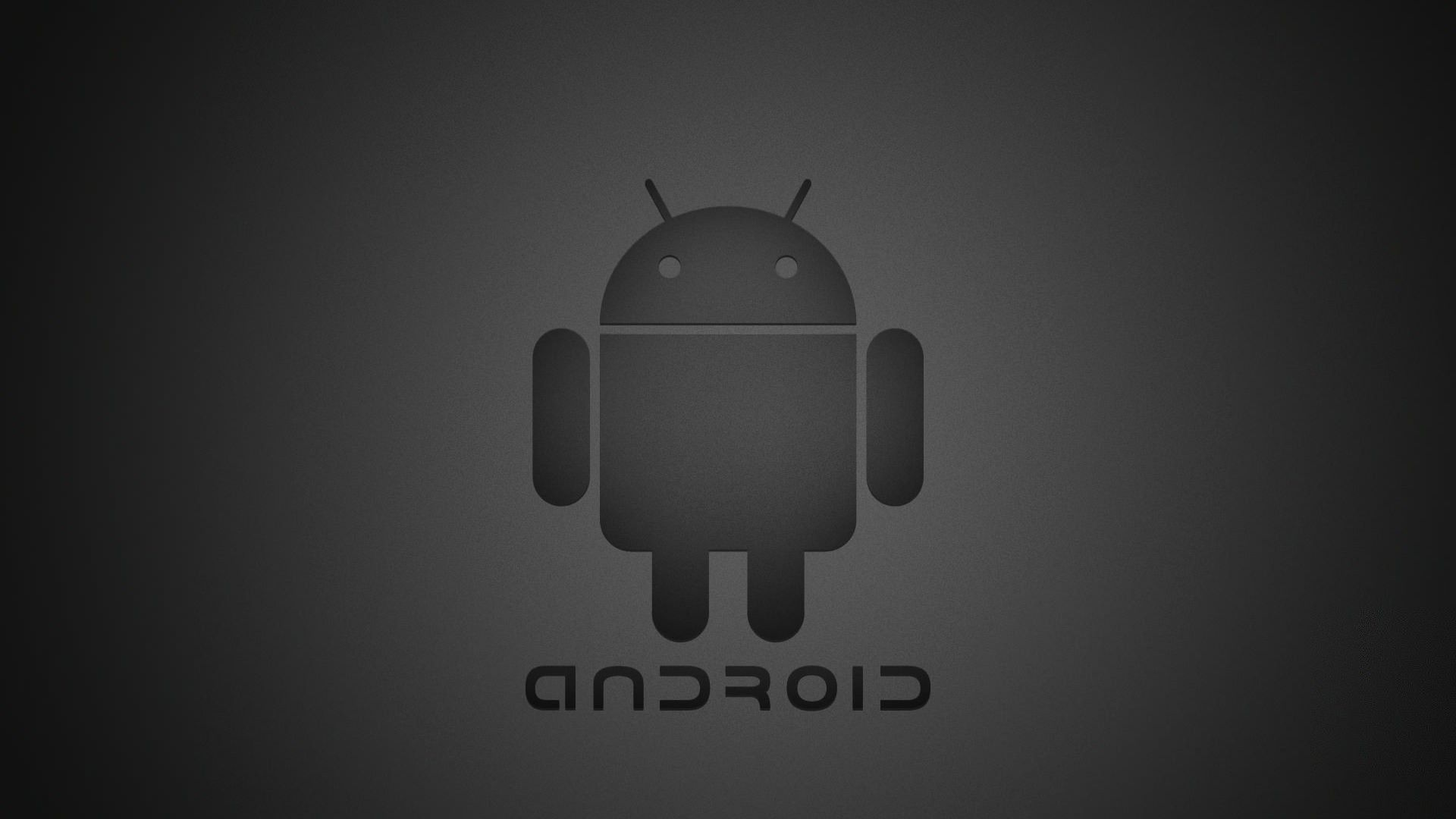 Wallpaper With Android Logo