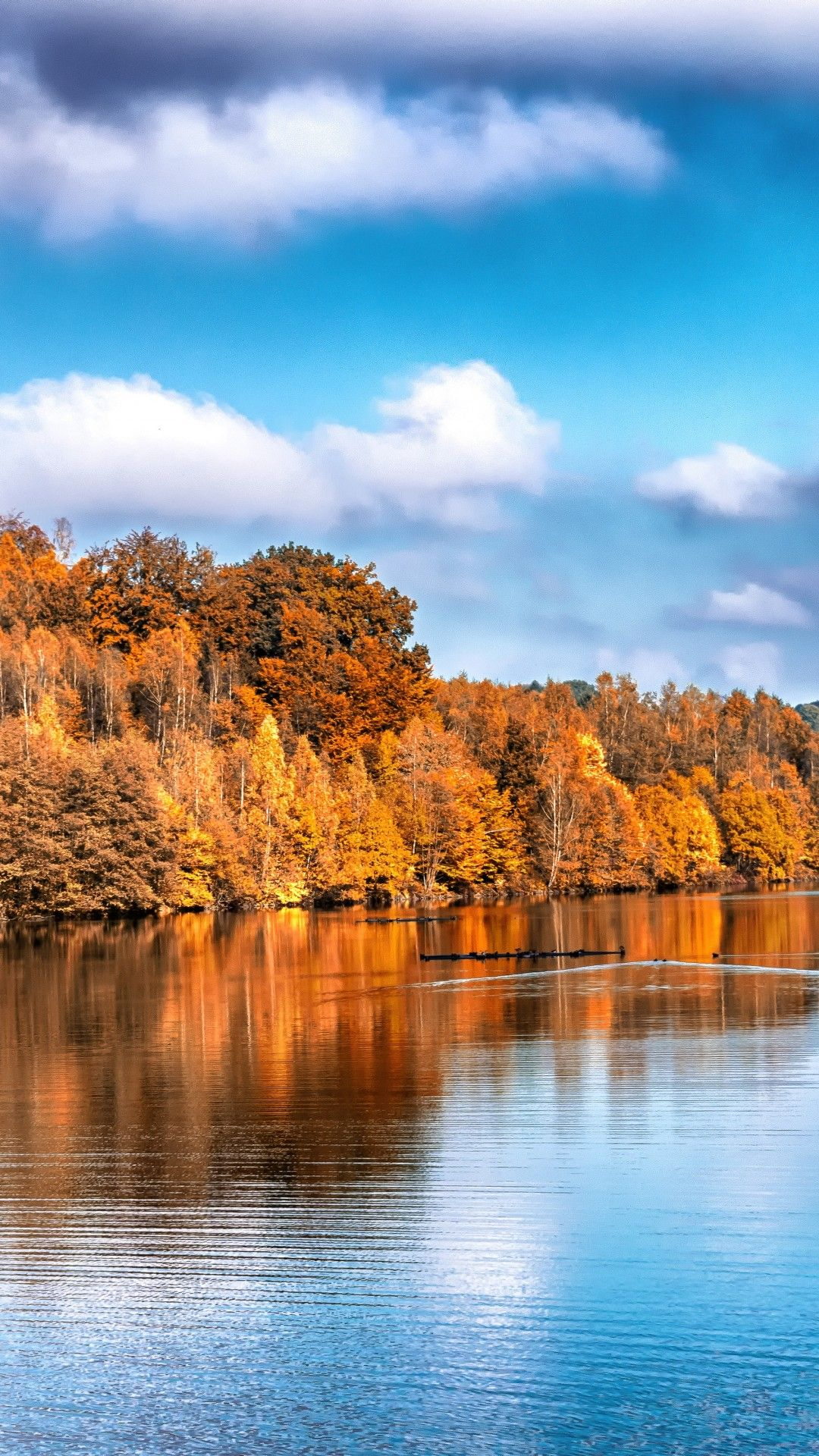 Wallpapers Fall Lake