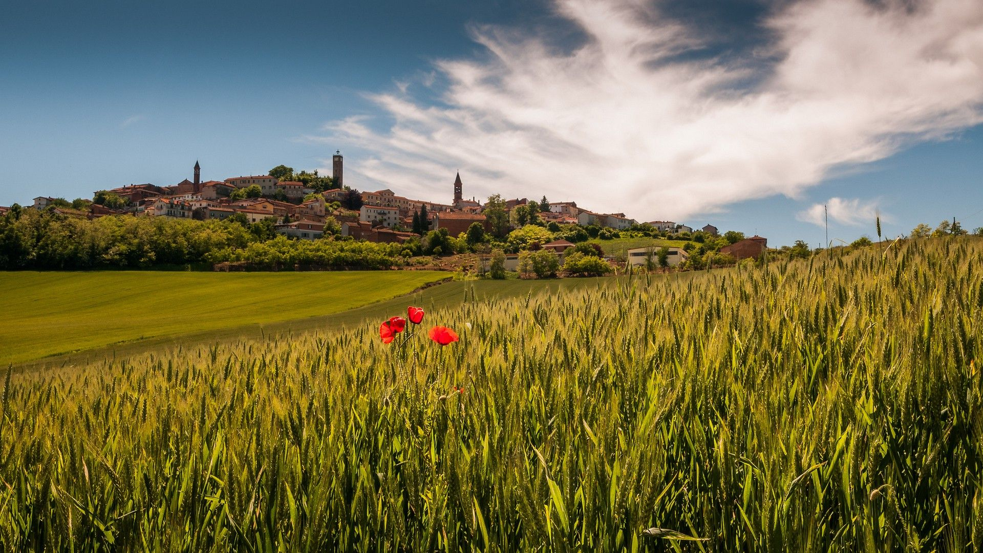 Wallpapers For Desktop, Italy Tuscany