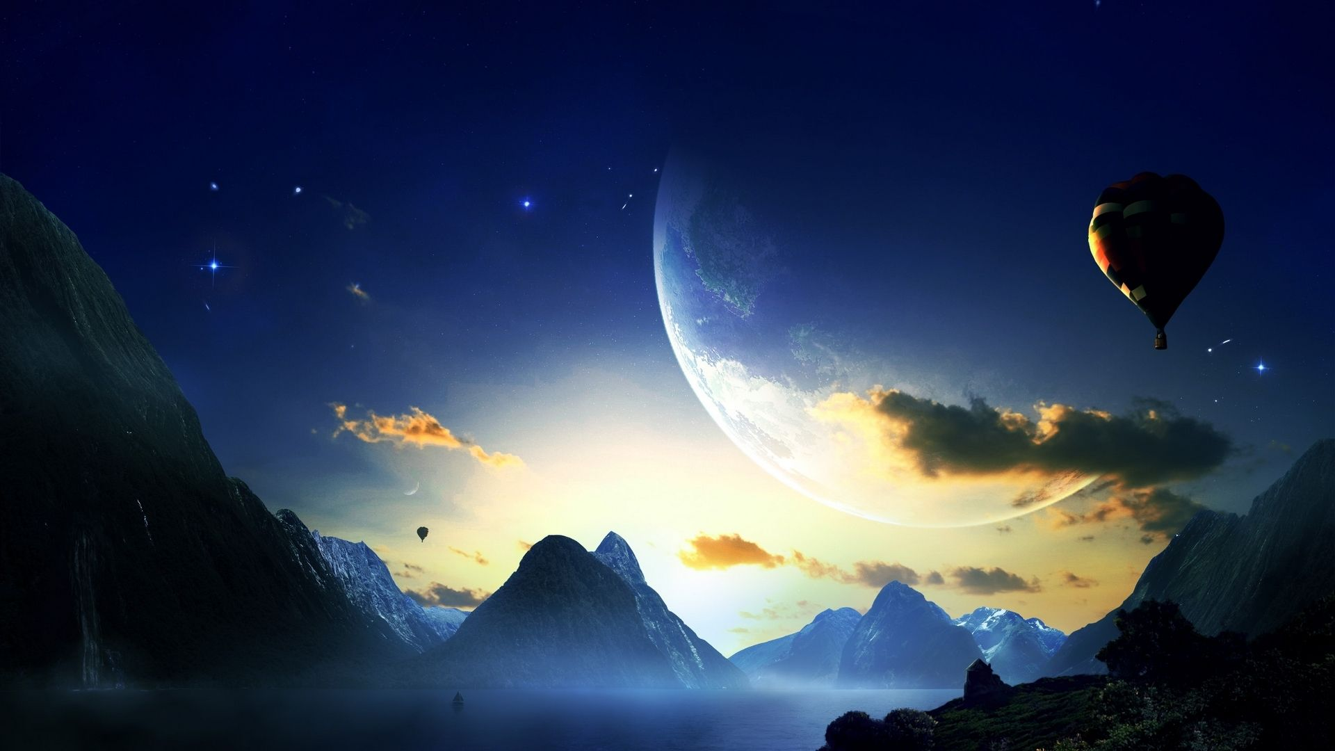 Wallpapers Planet Mountains