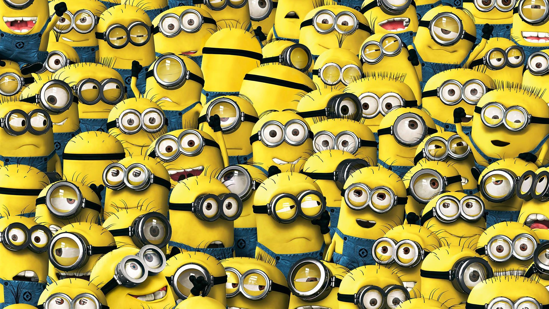 A Lot Of Minions In One Picture