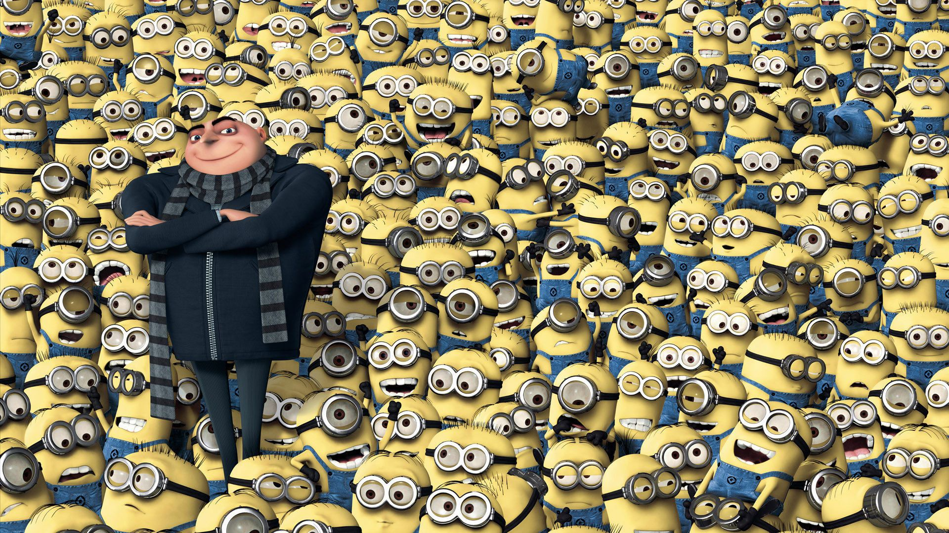 A Lot Of Minions Pictures