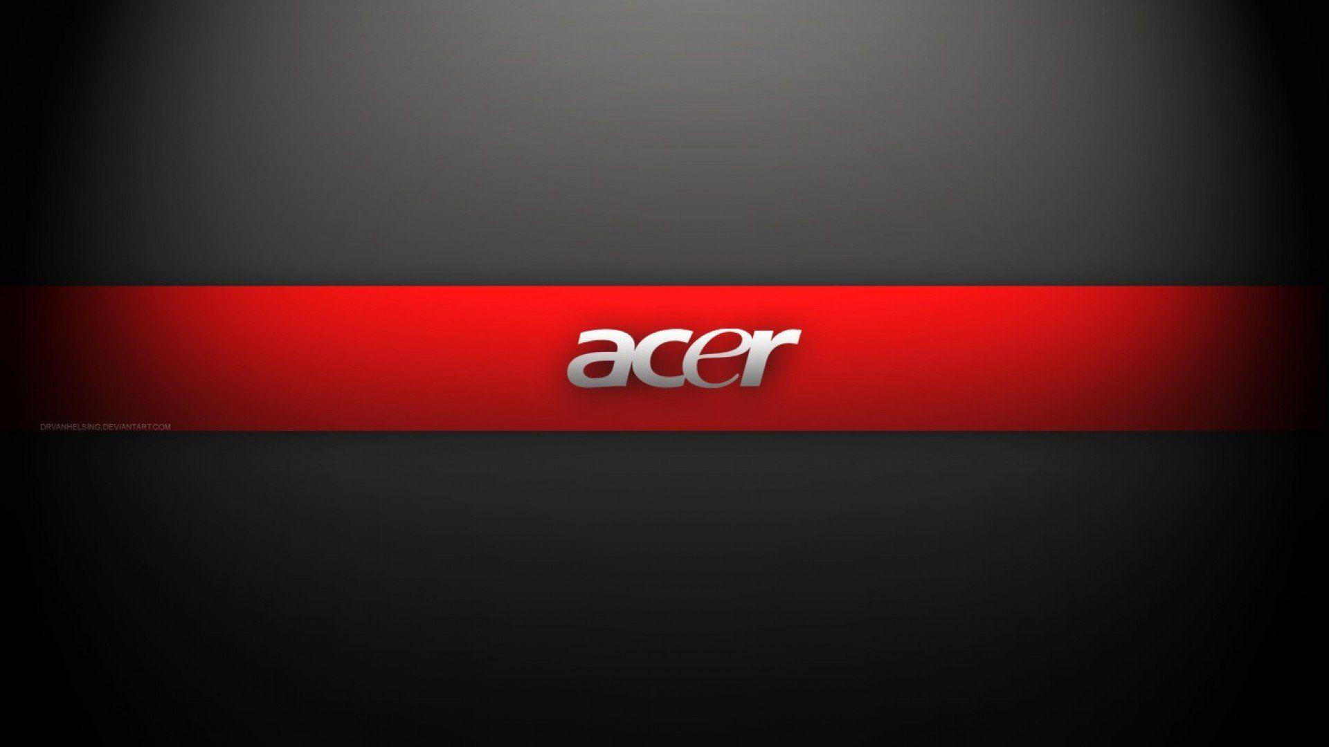 Acer Logo 1920 1080 Red