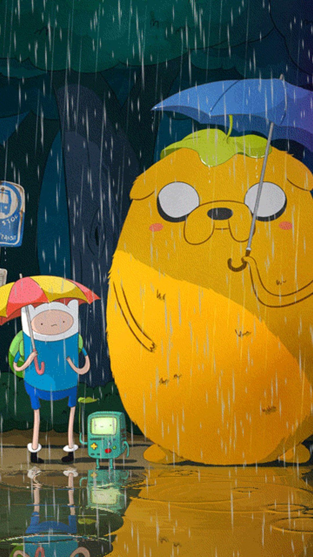 Adventure Time Totoro