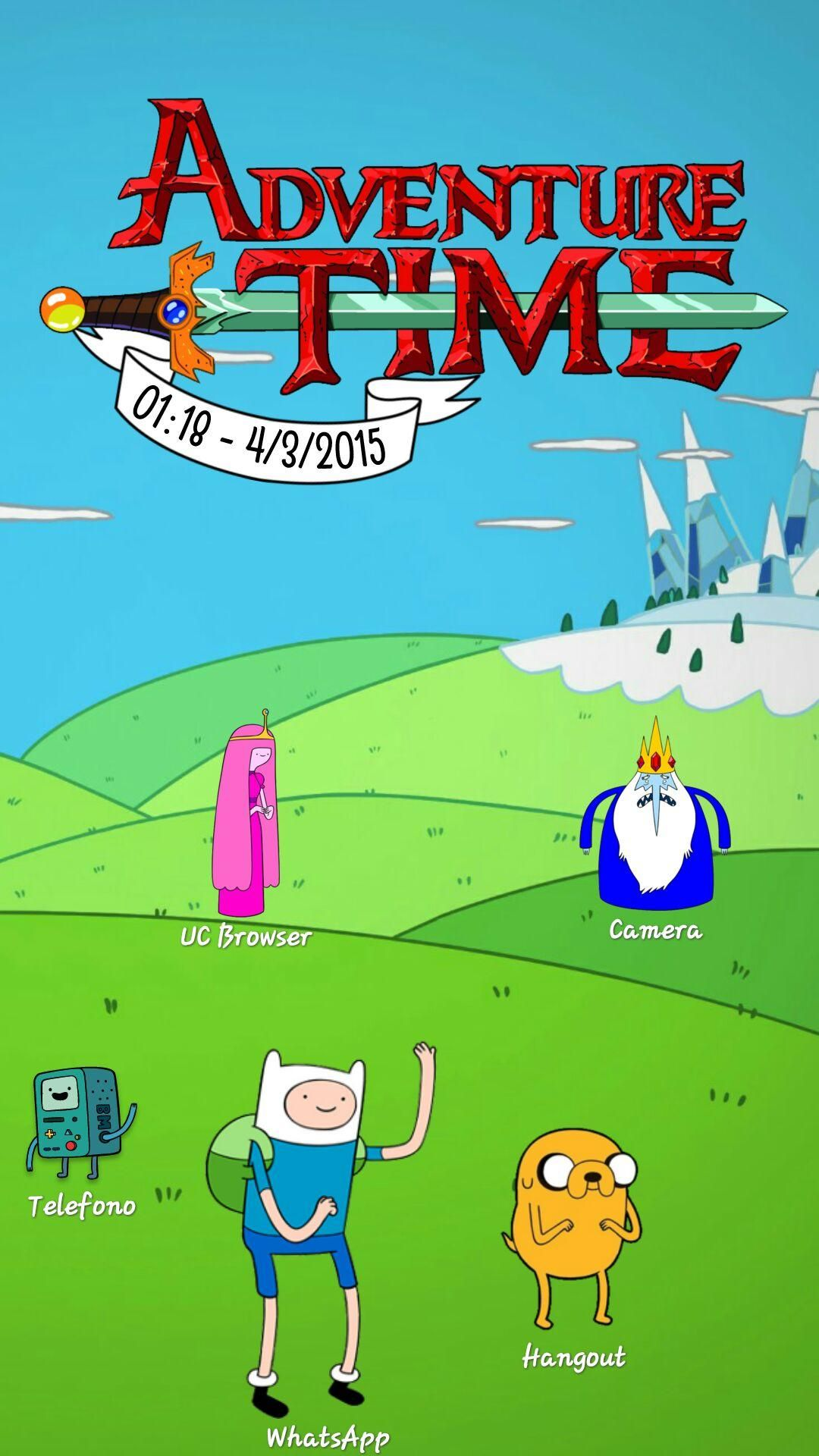 Adventure Time Screensaver