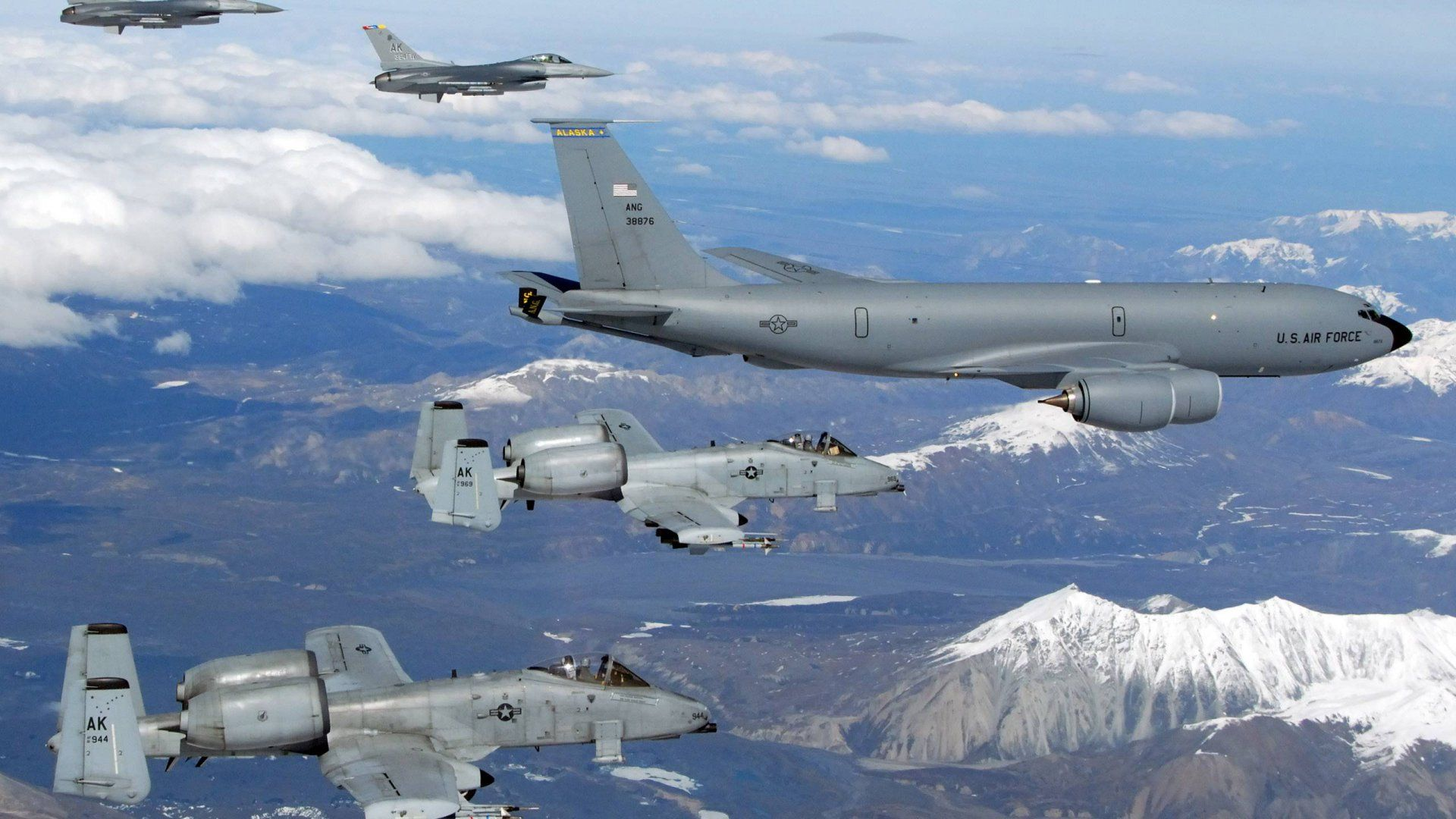 Aircraft Refueling Us Air Force