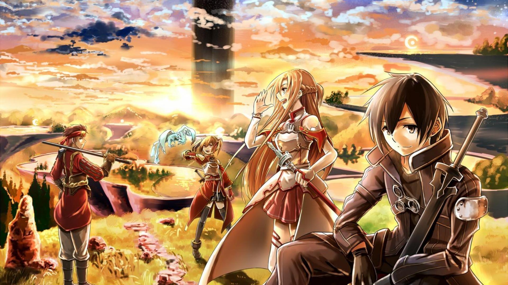 Amv Sword Art Online Art