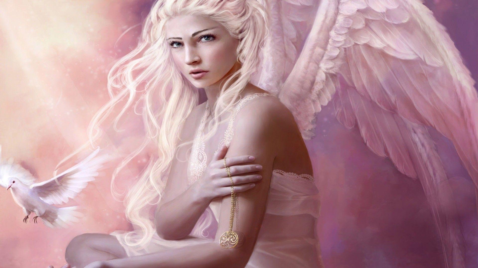 Angel Girl Photo Light