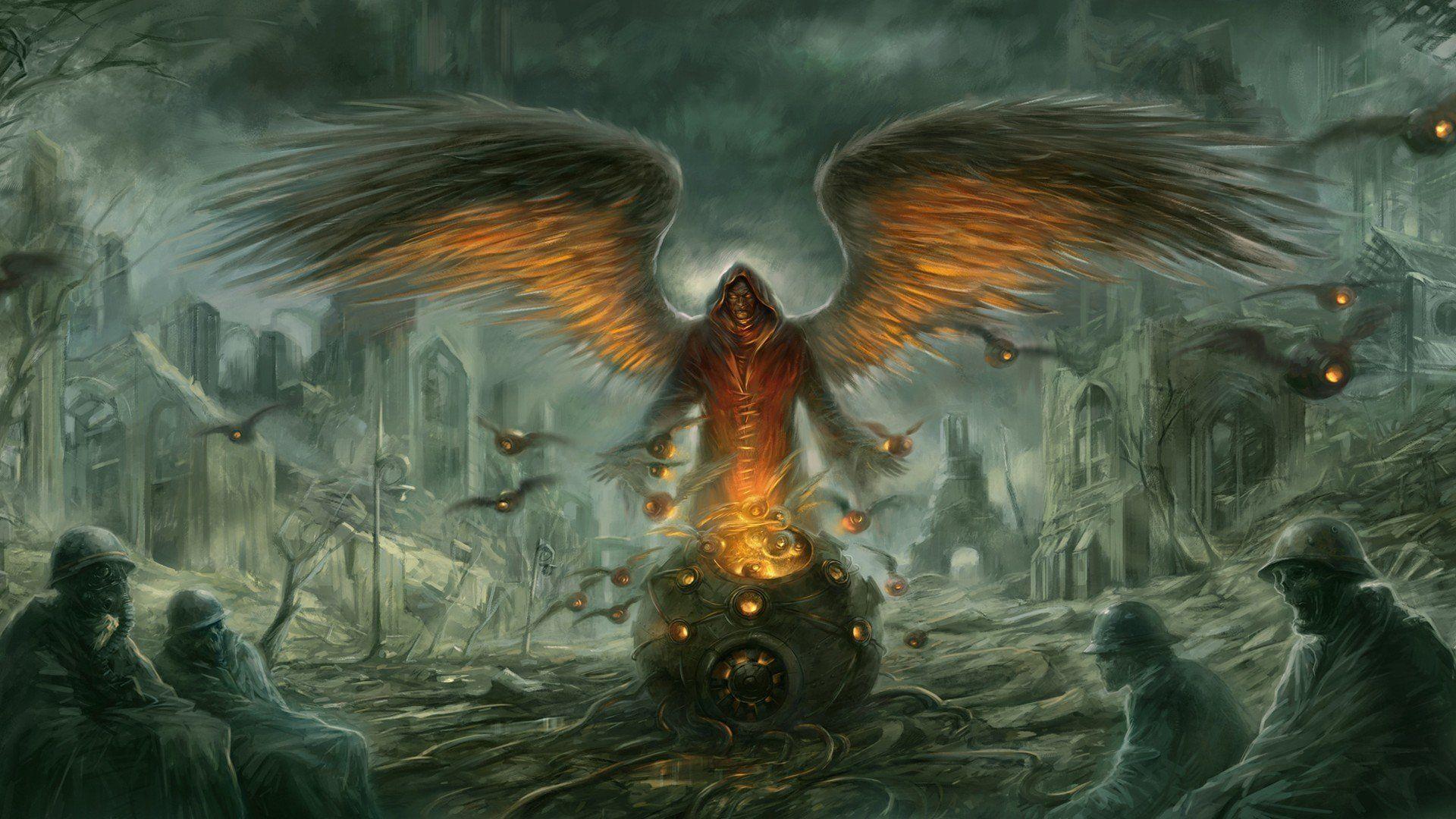 Angel Of Death Wallpaper