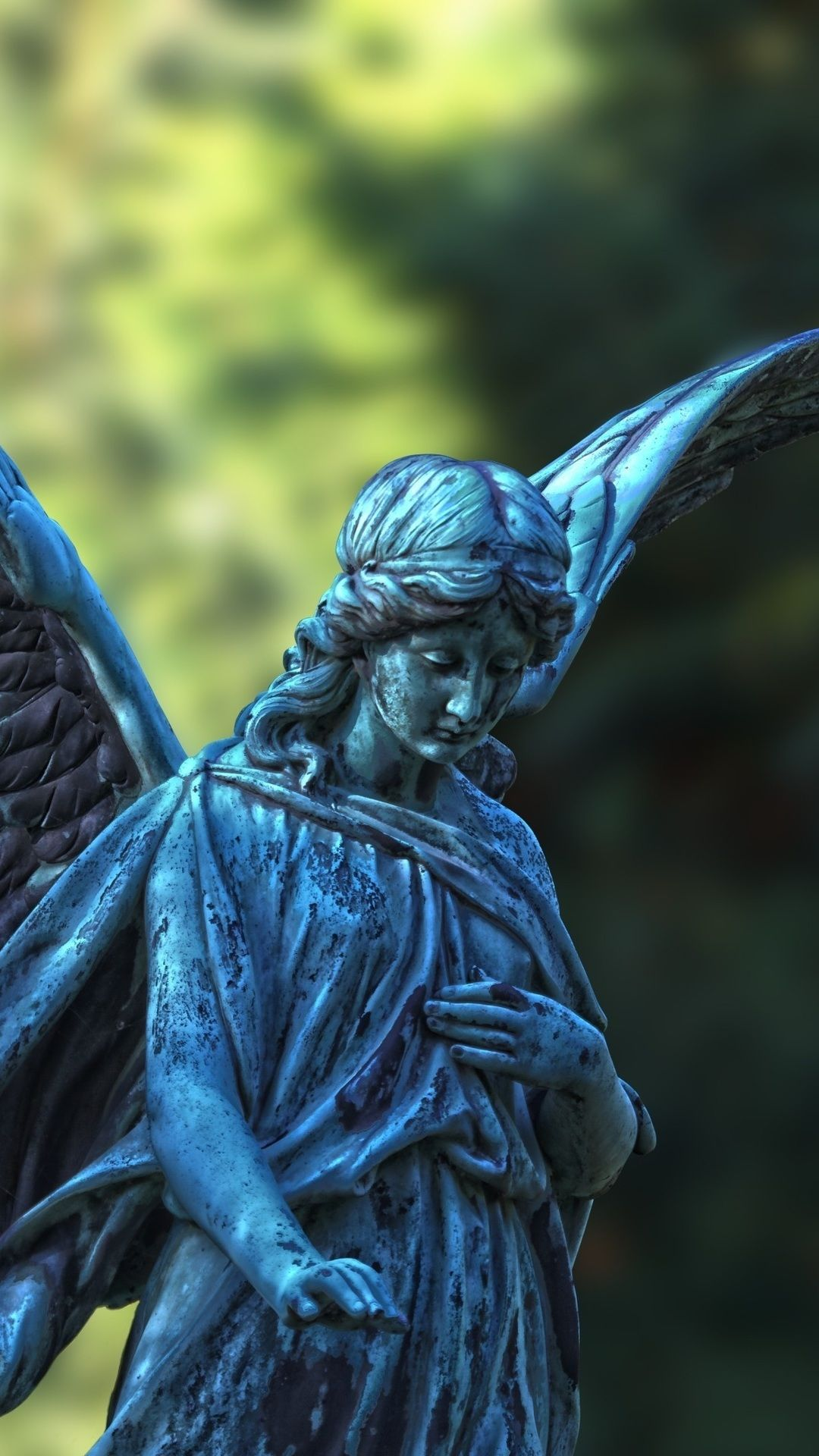 Angel Statue With Wings