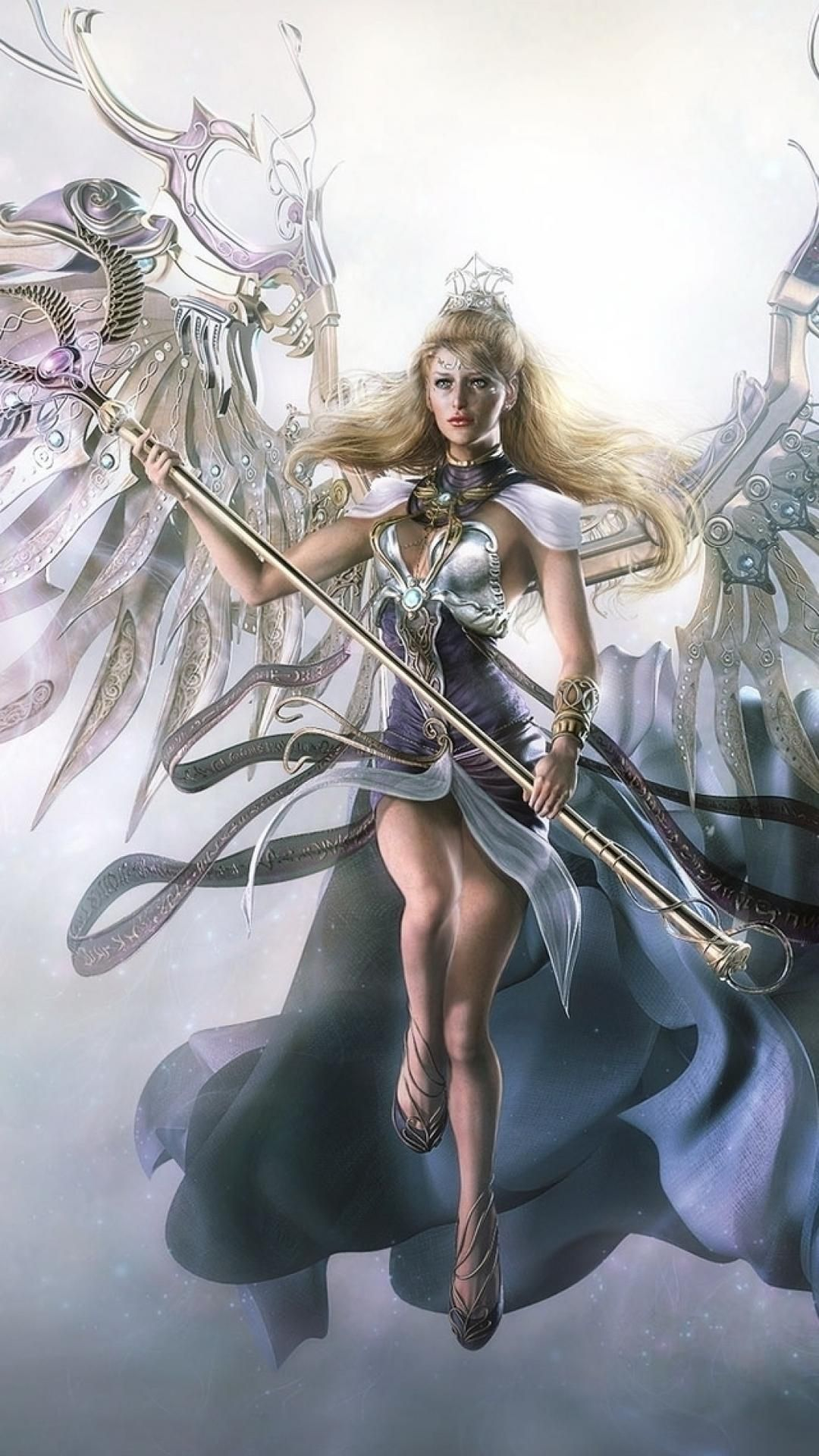 Angel Warrior Art