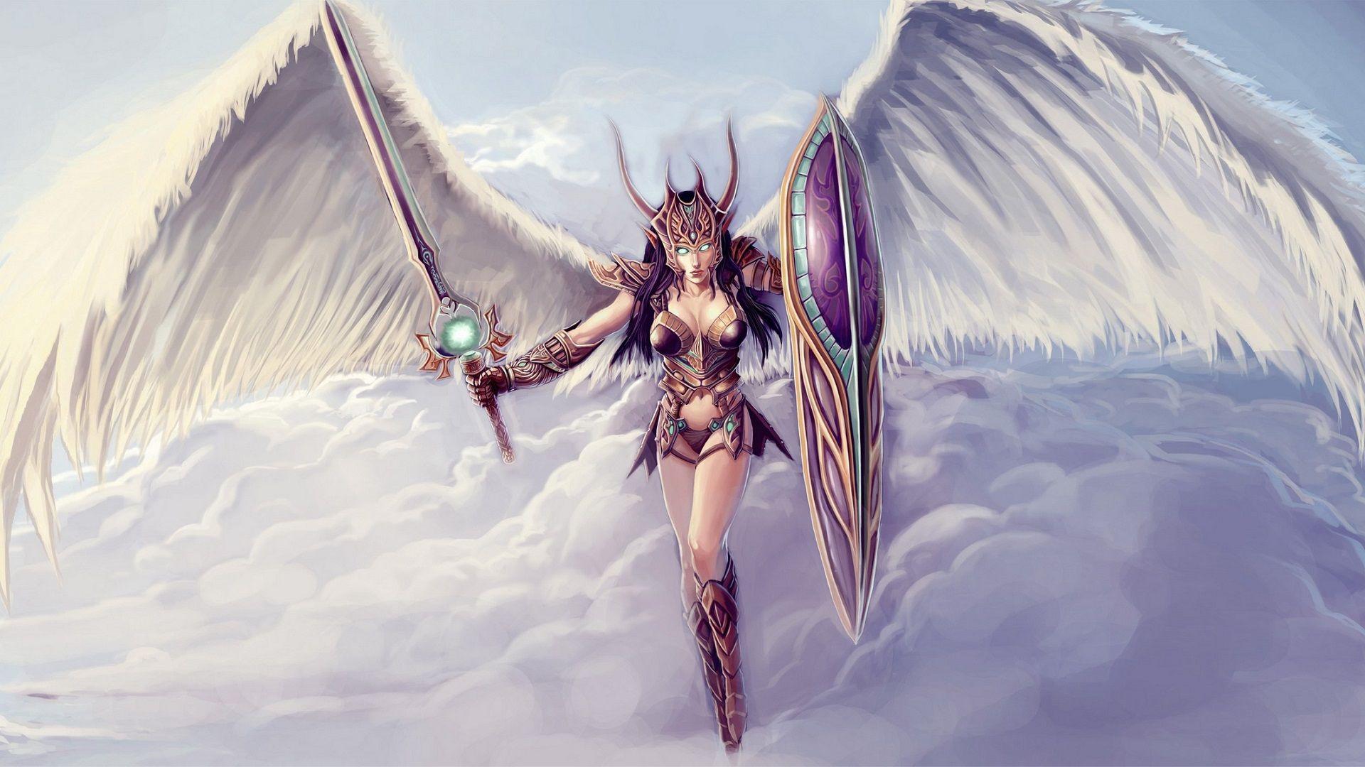 Angel Warrior Girl