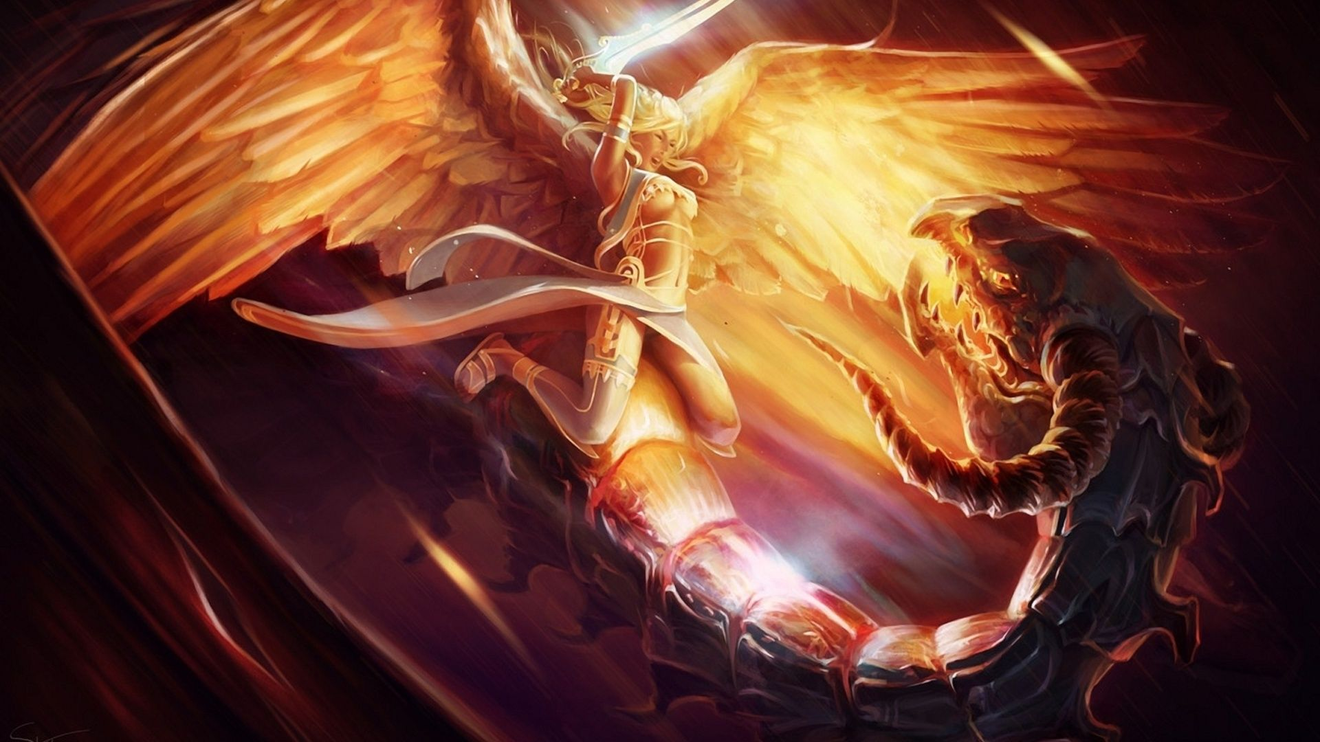 Angels And Demons Pictures Beautiful