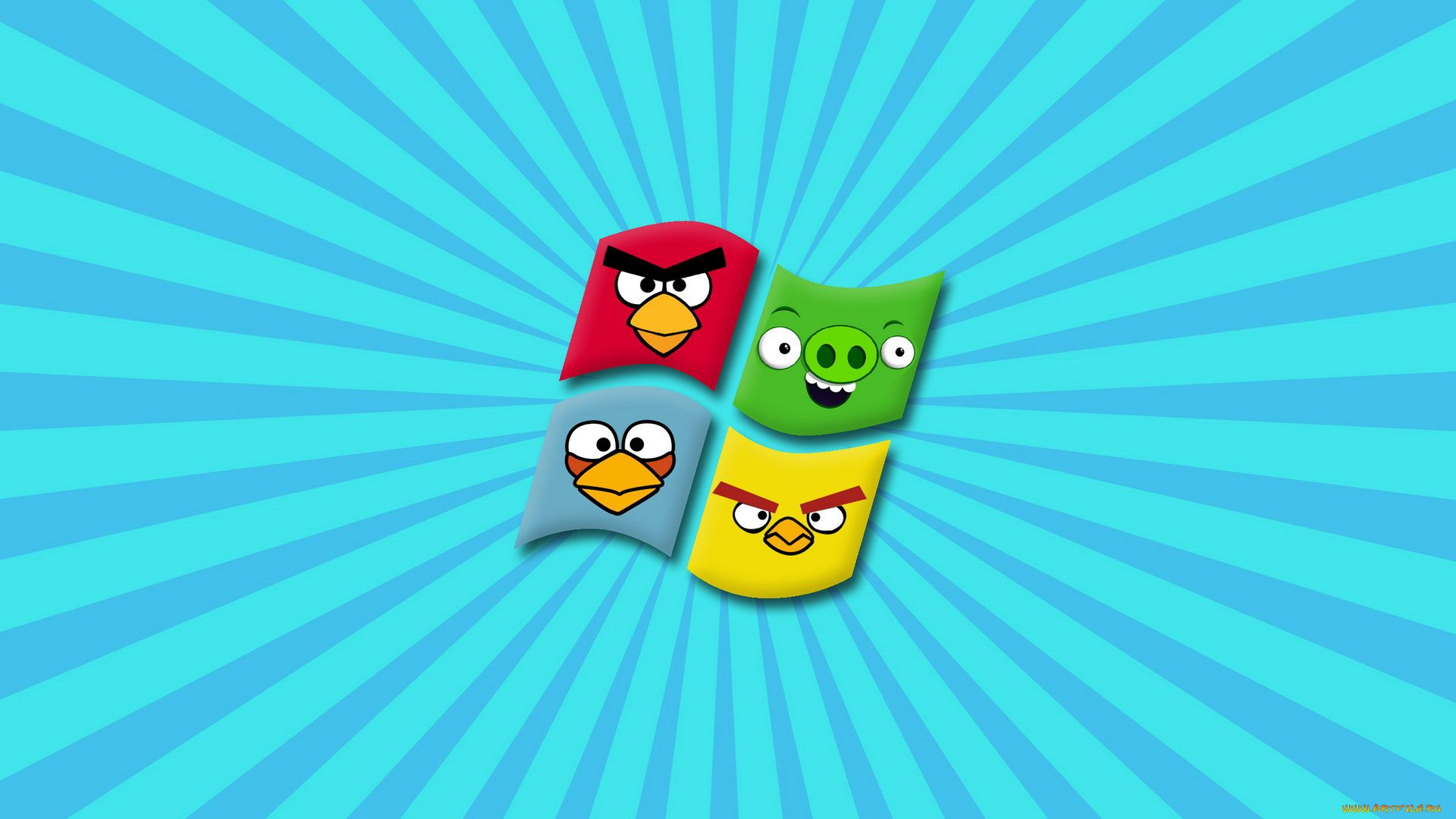 Angry Birds Wallpaper For Desktop