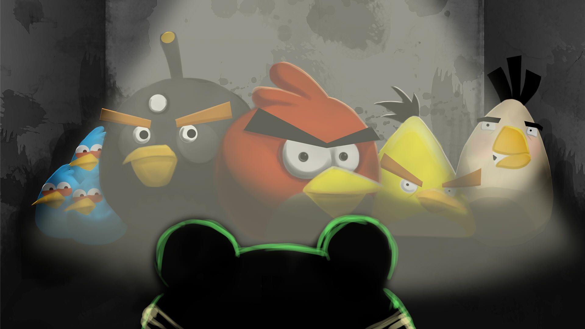 Angry Birds Black Bird