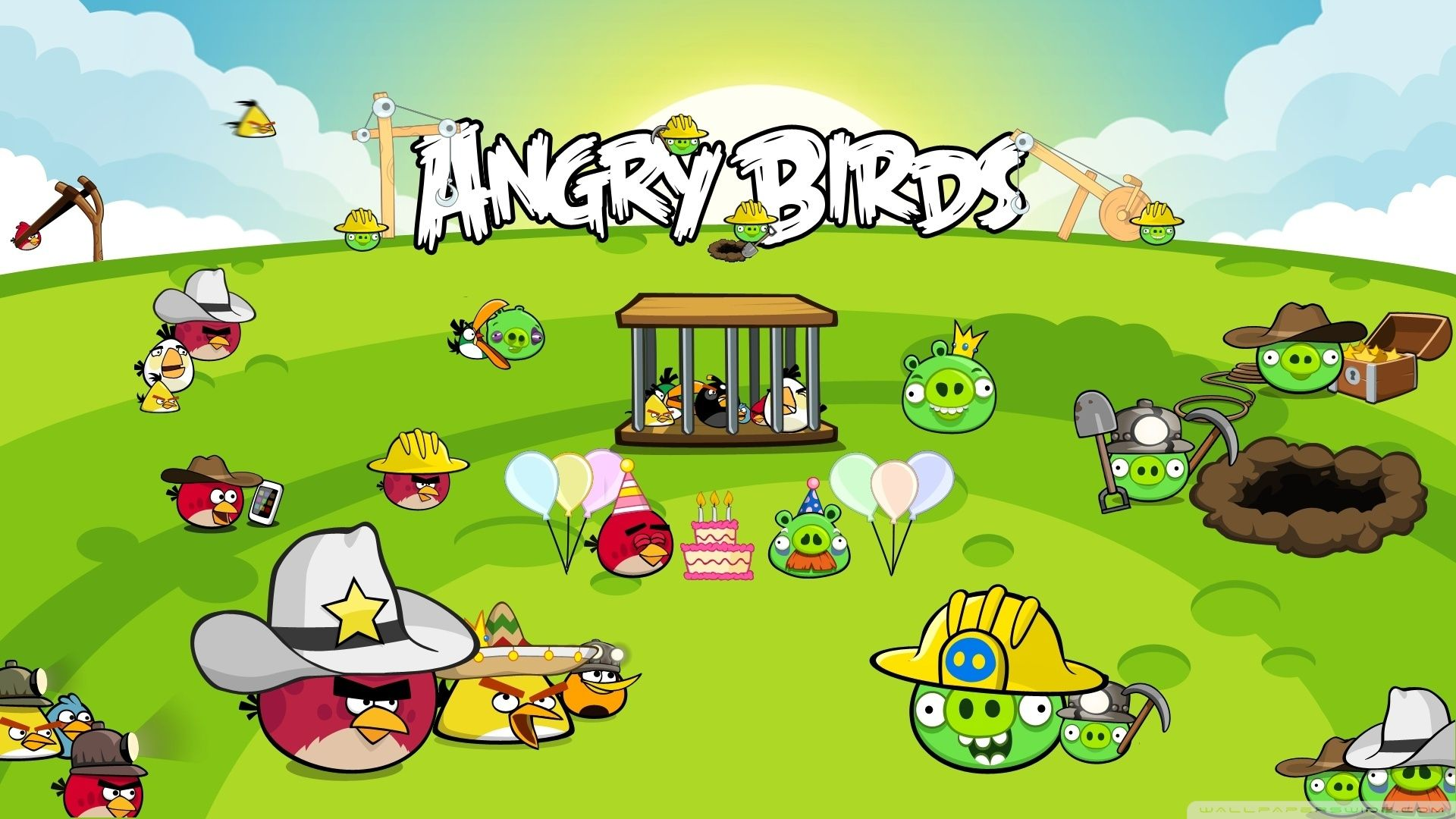 Angry Birds Game Pictures